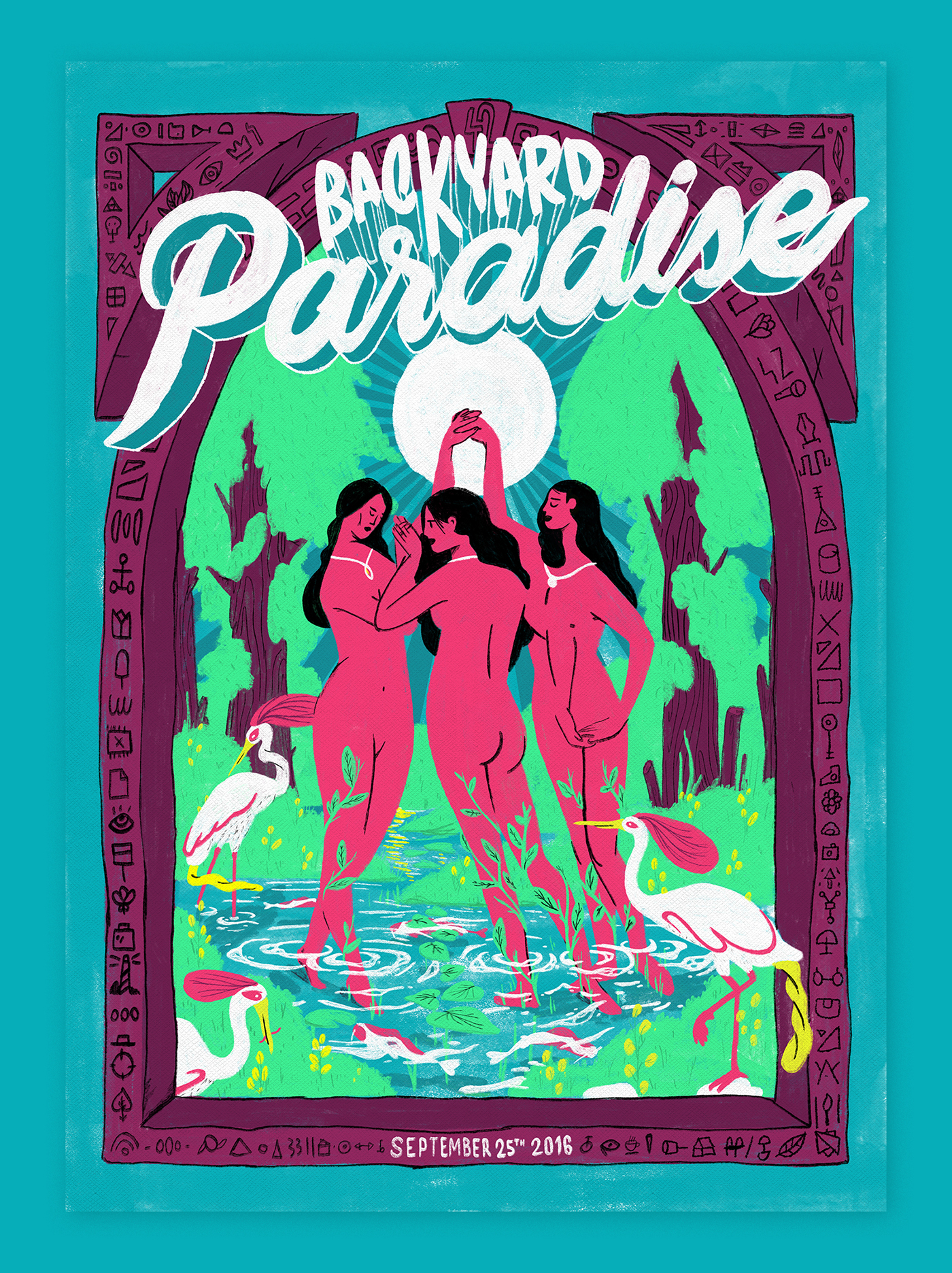 Backyard Paradise 4 on Behance