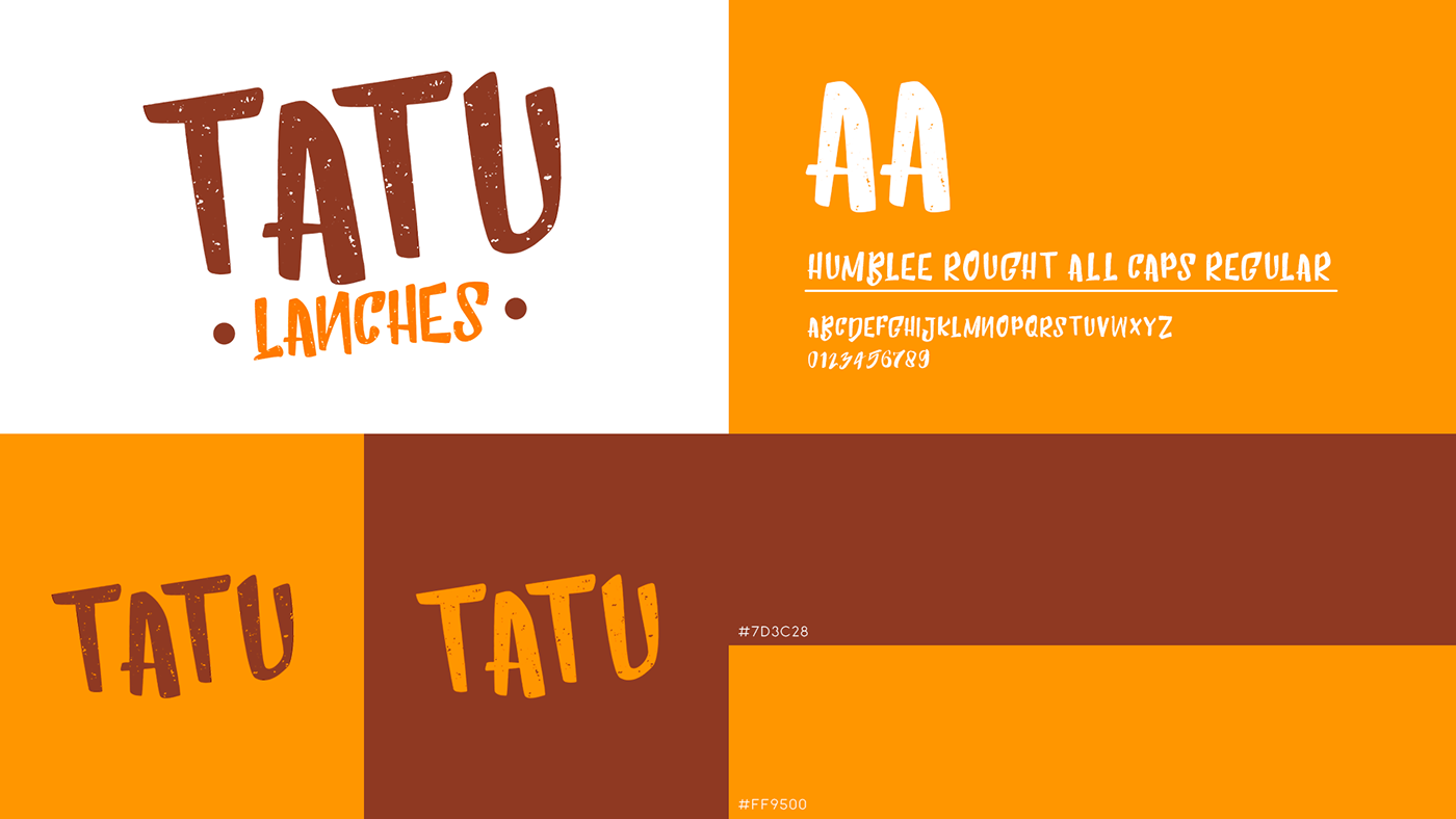 brand identidade visual jacui mg stork digital tatu delivery tatu lanches tatu lanches jacui