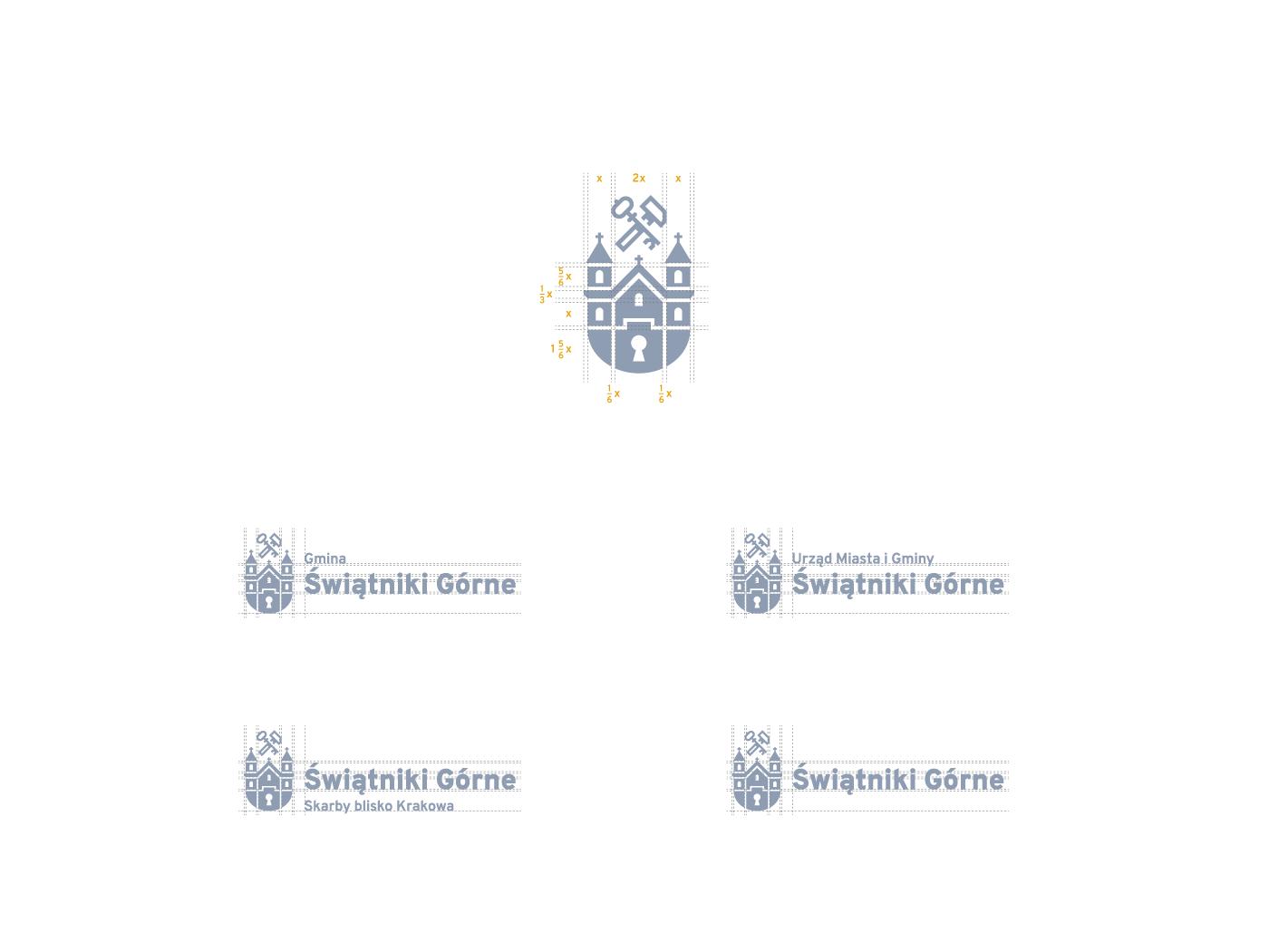 logo identity brand city city-identity City-logo poland key visual icons