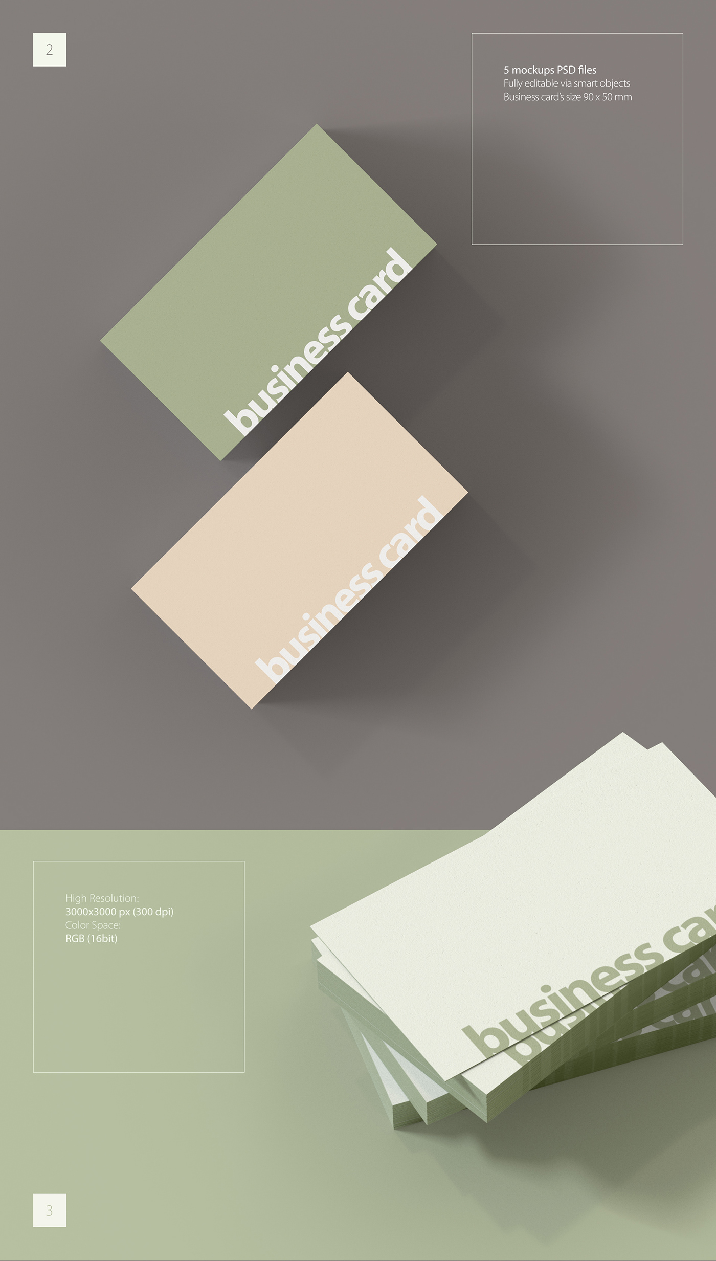 FREE MOCKUP Business Card On Behance