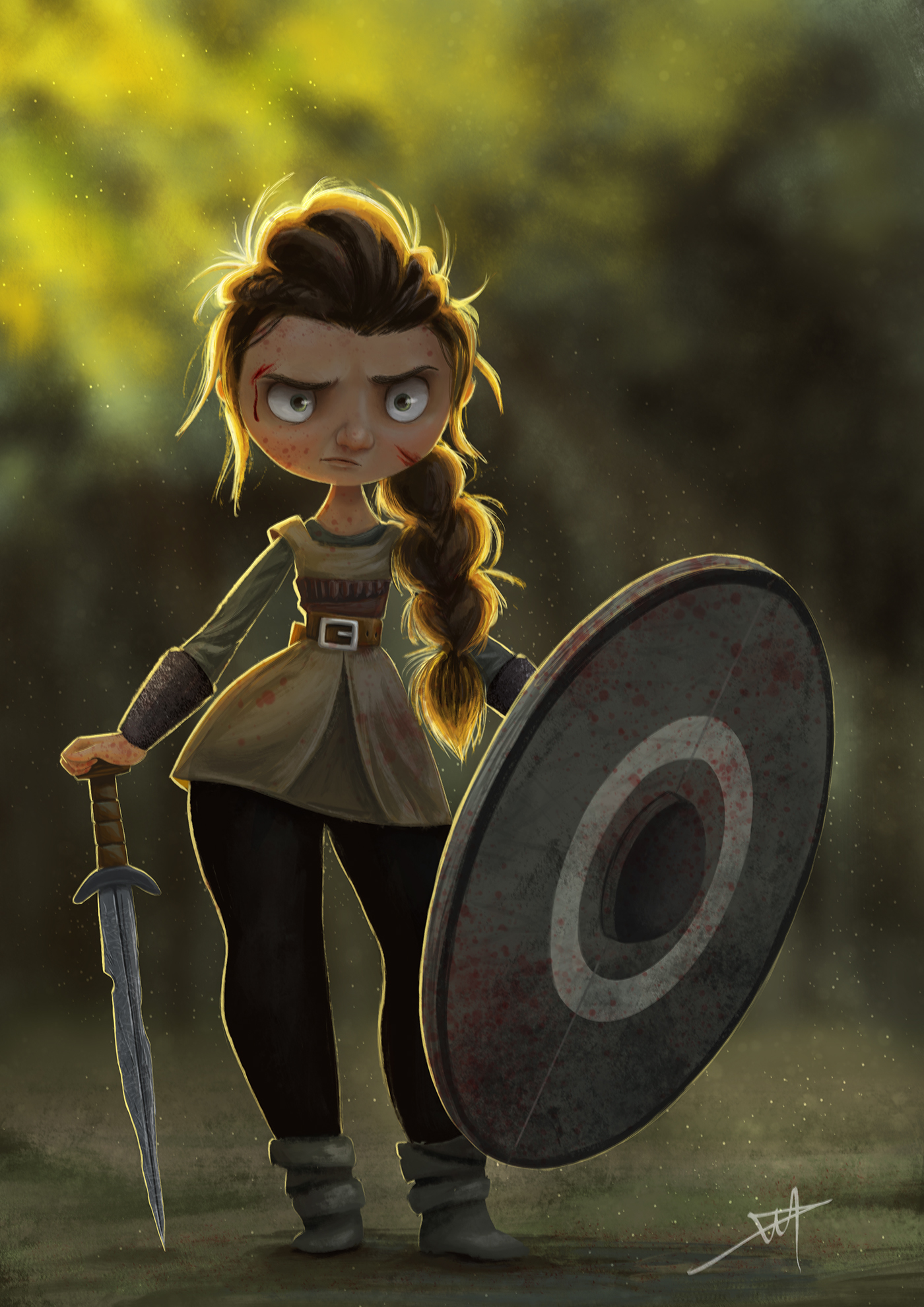 Viking - Shield Maiden on Behance