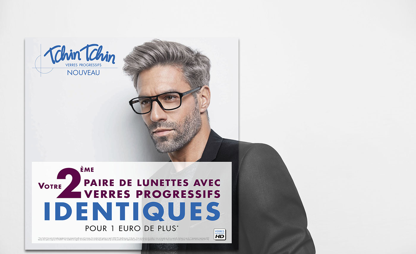3762e6f1b94d0 Alain Afflelou Tchin Tchin verres progressifs on Behance