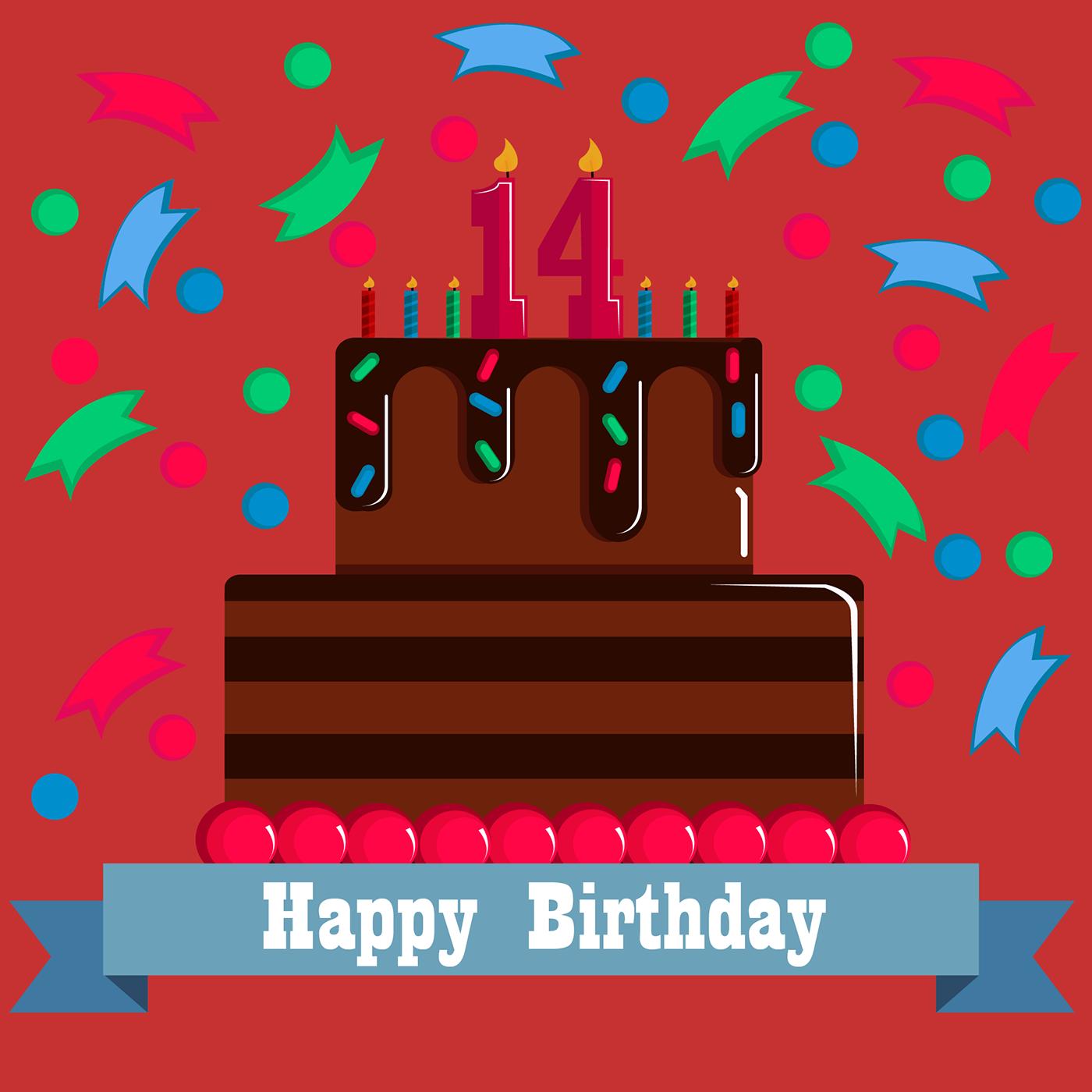 精緻的19款生日蛋糕圖案欣賞