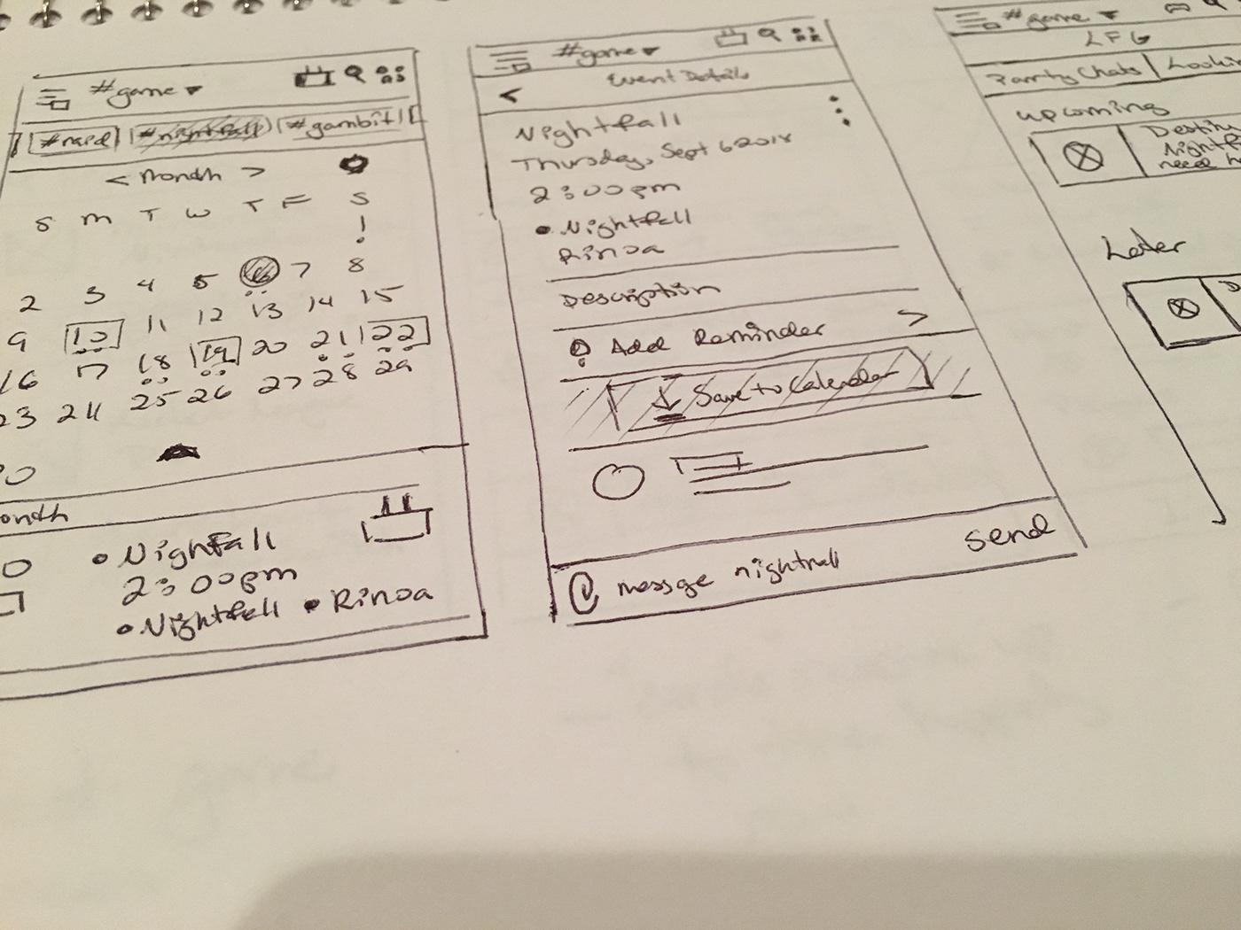 Discord • LFG Calendar UX/UI Concept on Behance