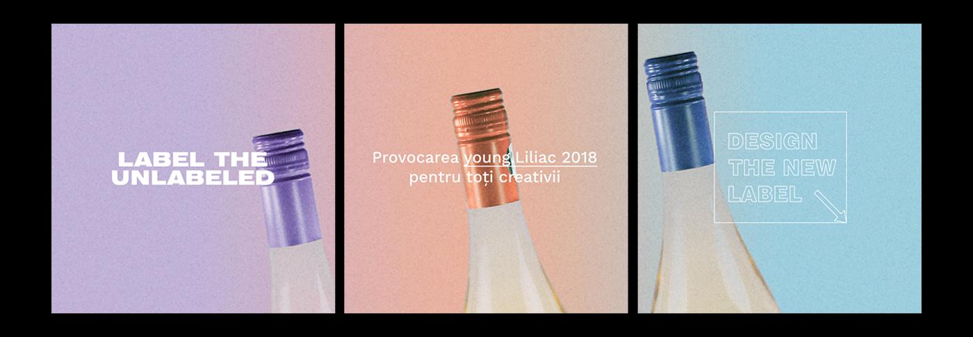 liliac contest Label yearly label minimalist