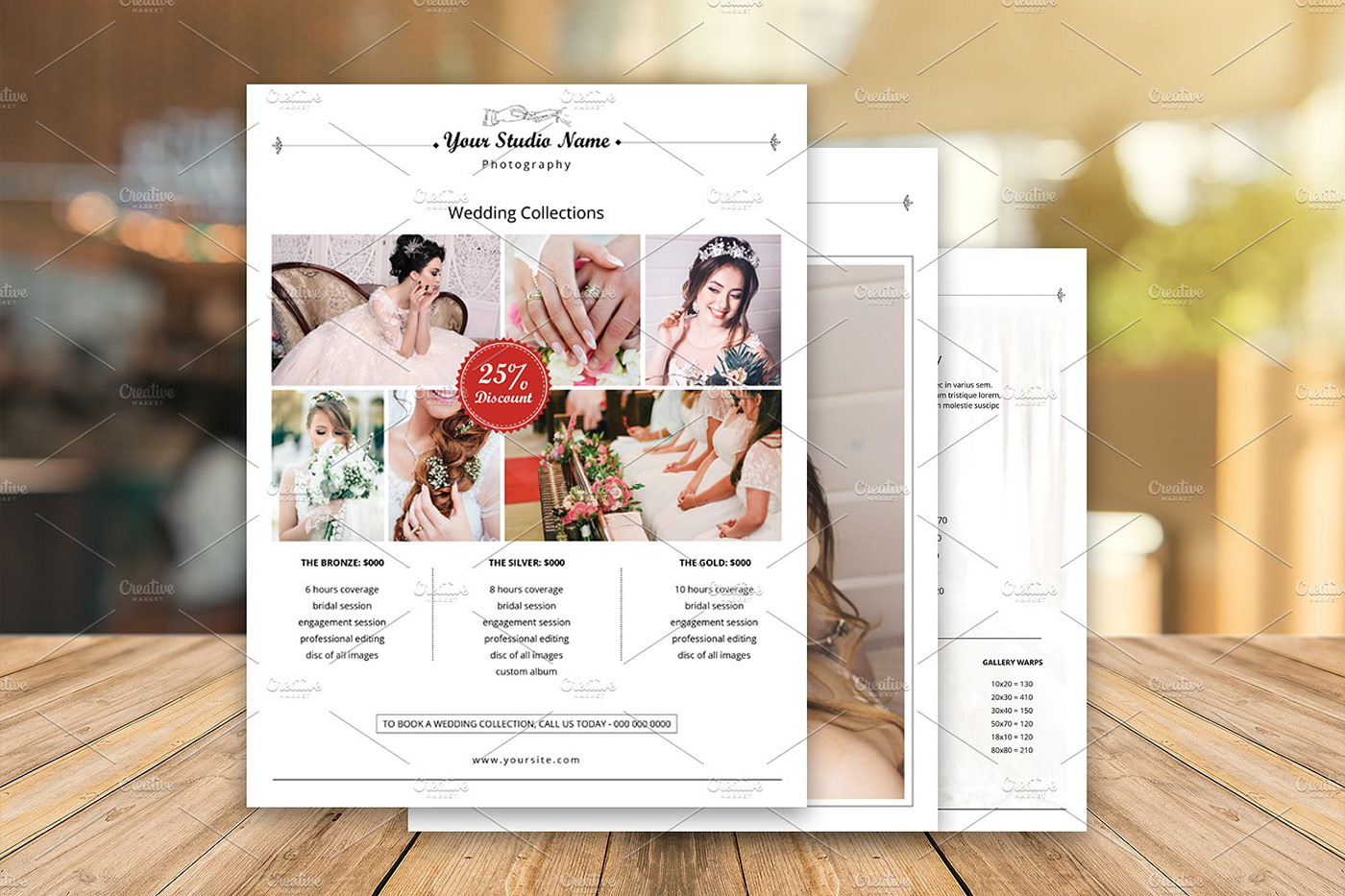 Wedding Photographer Pricing Guide Template on Behance