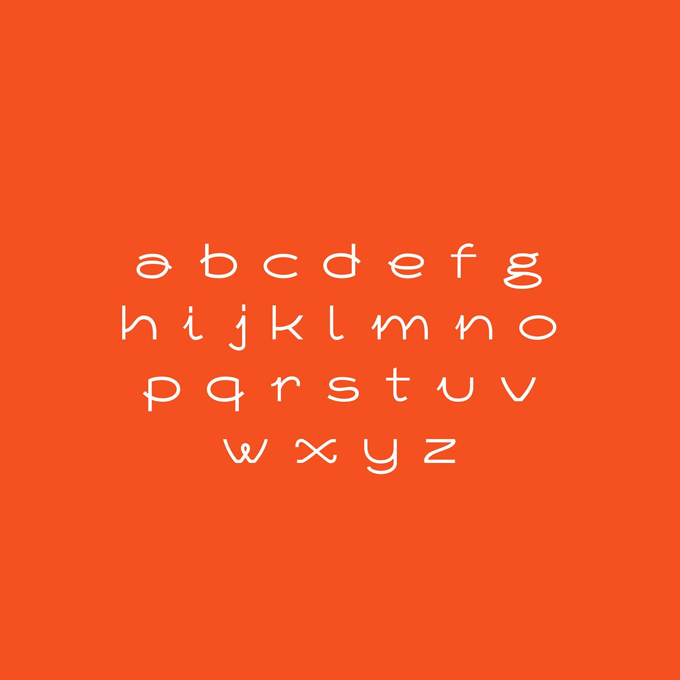 custom type Experimental font font Free font type design typography
