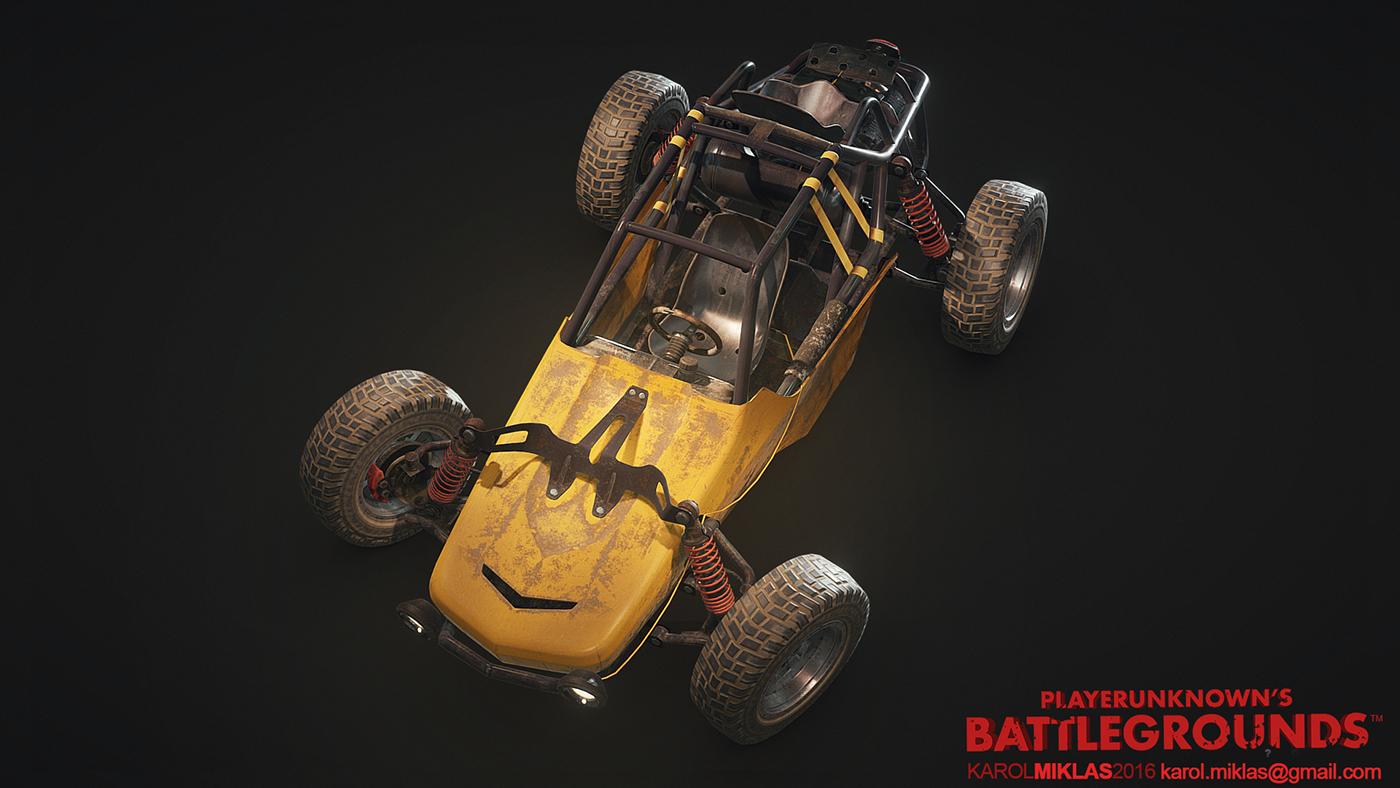 Pubg Buggy Wallpaper: PUBG: Vehicles On Behance