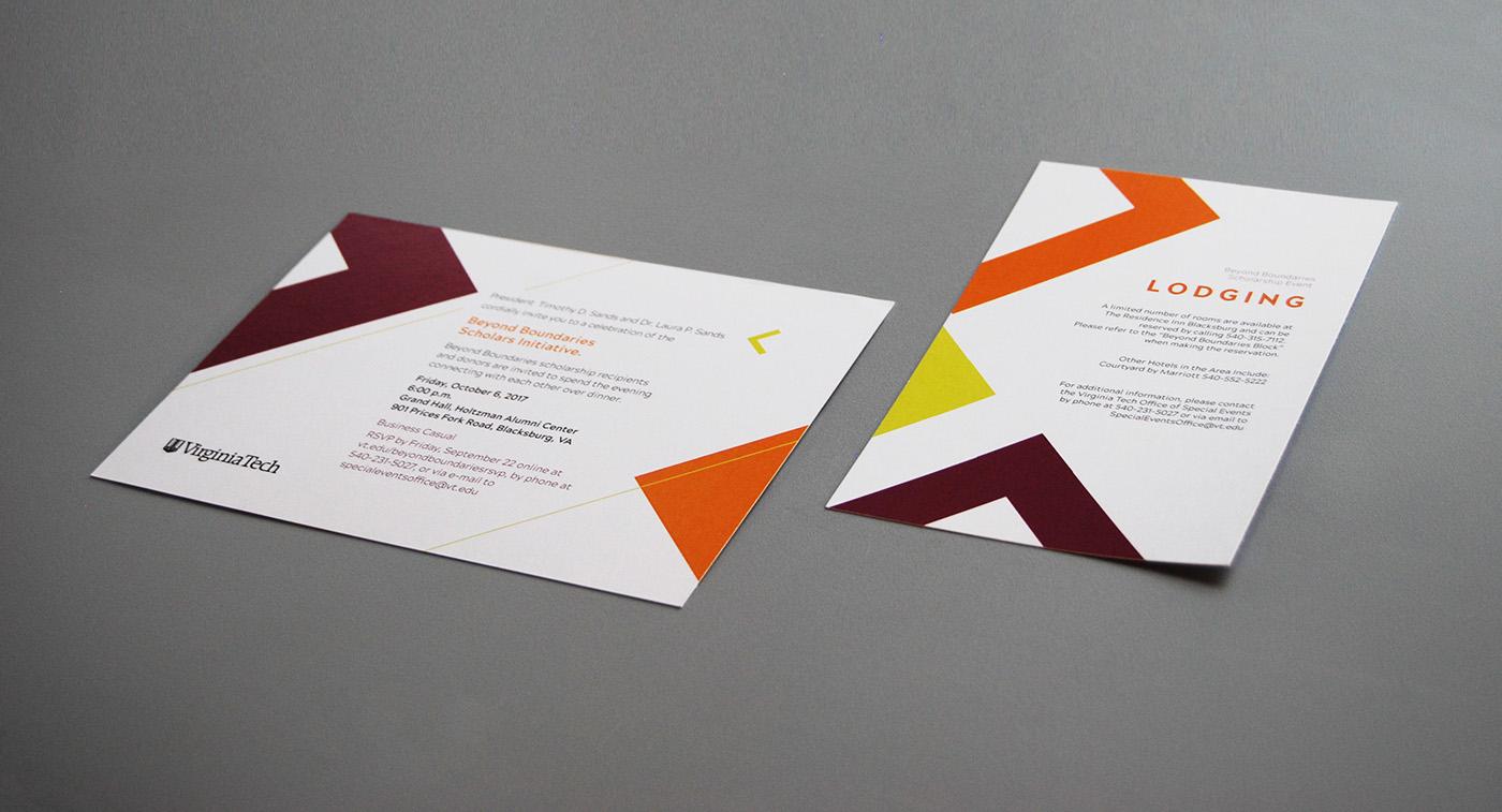 Print design virginia tech on behance thank you colourmoves