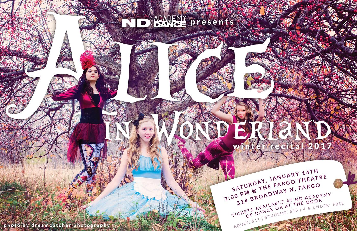alice in wonderland recital DANCE   studio