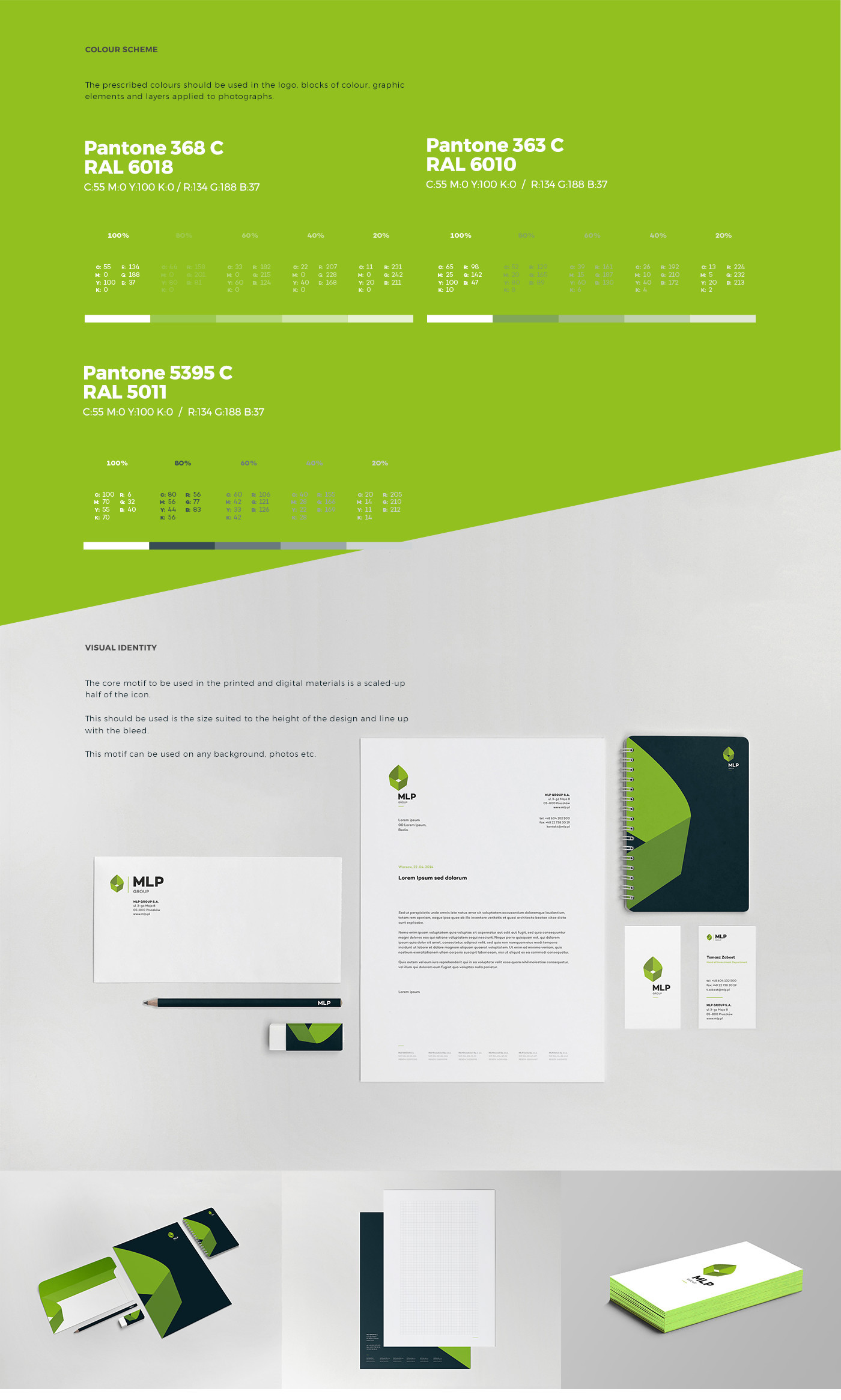 corporate green building leaf structure warehouse Space  rental eco corporate id Website Responsive Layout enviroment logo