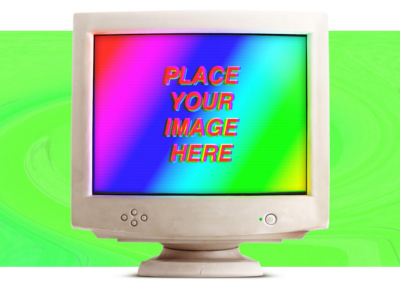 Mockup Laptop pda Display free