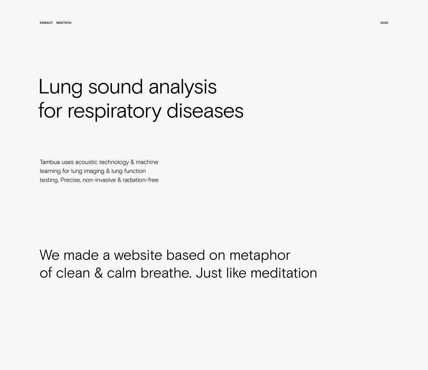 future Health IT MachineLearning medical medtech Startup Webflow Website