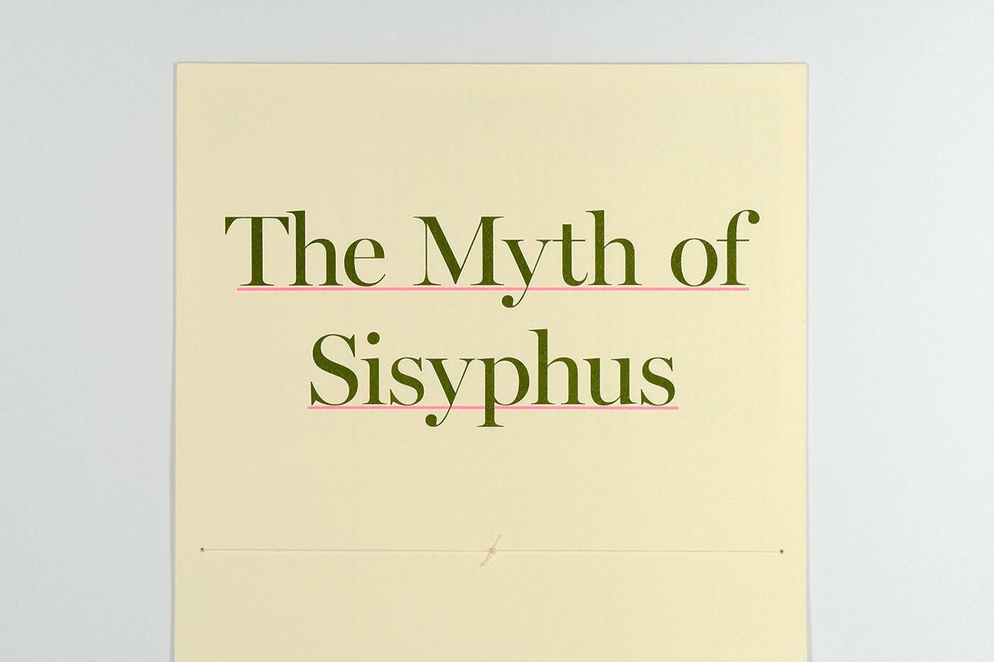 The Myth Of Sisyphus On Behance The Essay The Myth Of Sisyphus By Albert Camus Forms The Basis For This  Booklet Camus Essay Compares Our Daily Lives To The Labours Of Sisyphus