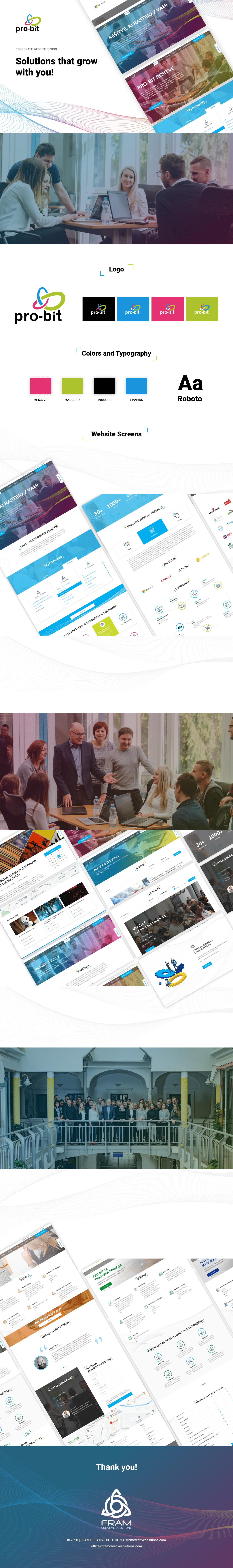 Website redesign Digital strategy UI ux