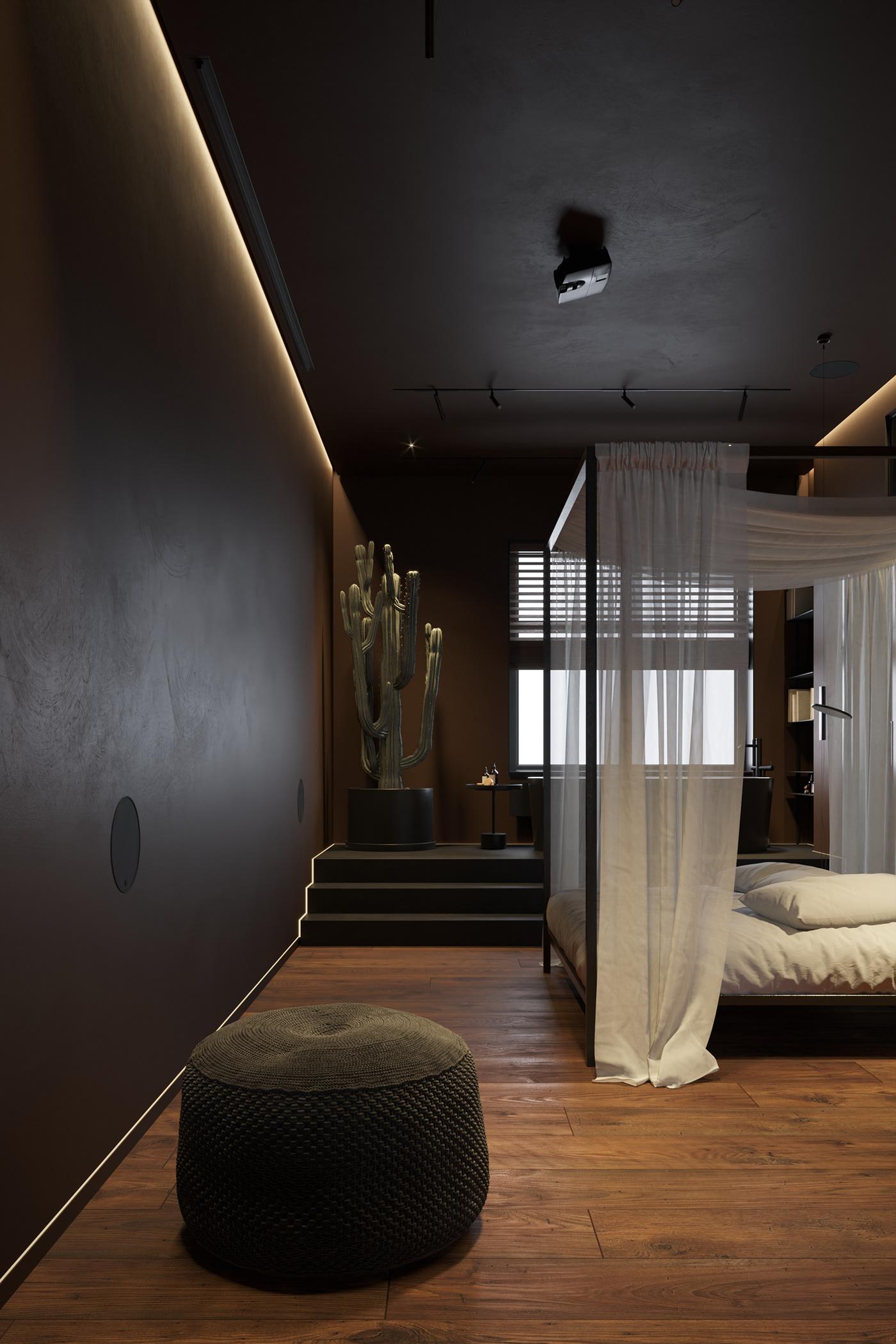 bathroom bedroom brown interior DUBAI INTERIOR interior design  kiev interior kitchen living room warm minimalist
