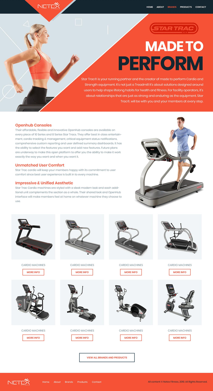 gym gym website design fitness website desig fitness health and fitness fitness ui Fitness Equipments