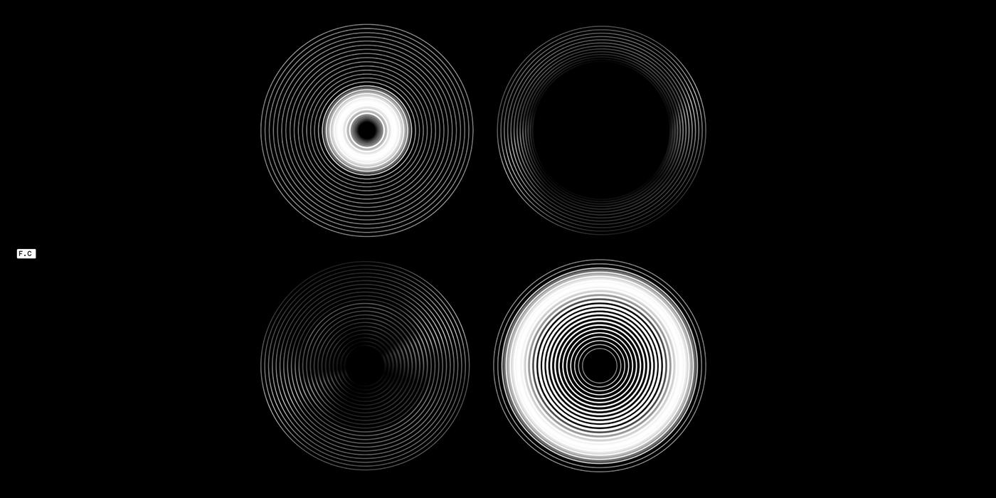 colorfull conceptual digital geometry healthcare mind modern sound tech Wellness