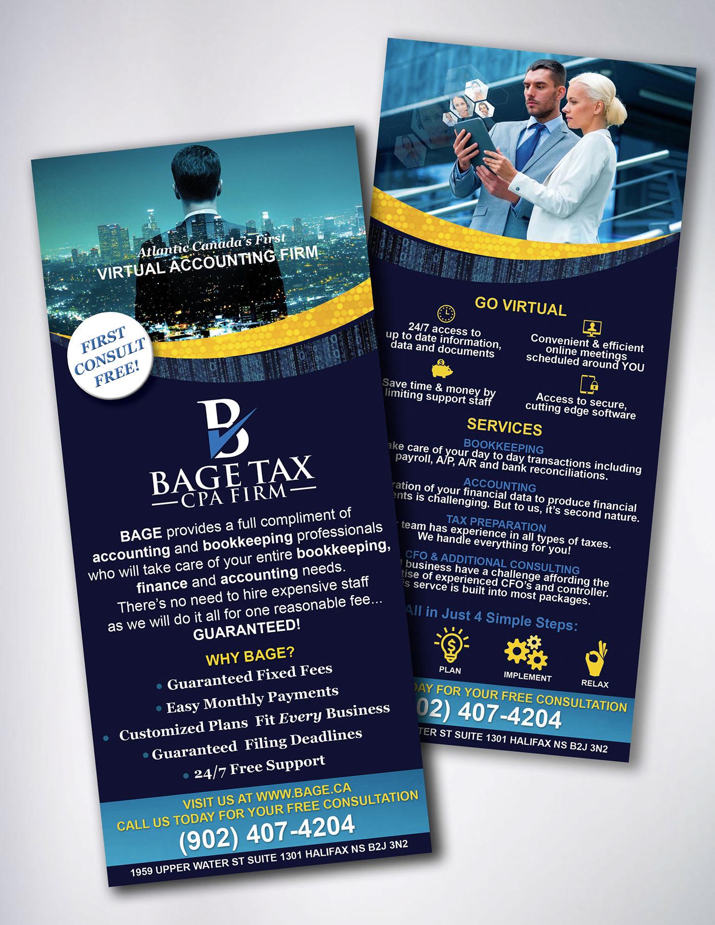 accounting Web Dsign creative identity tax virtual