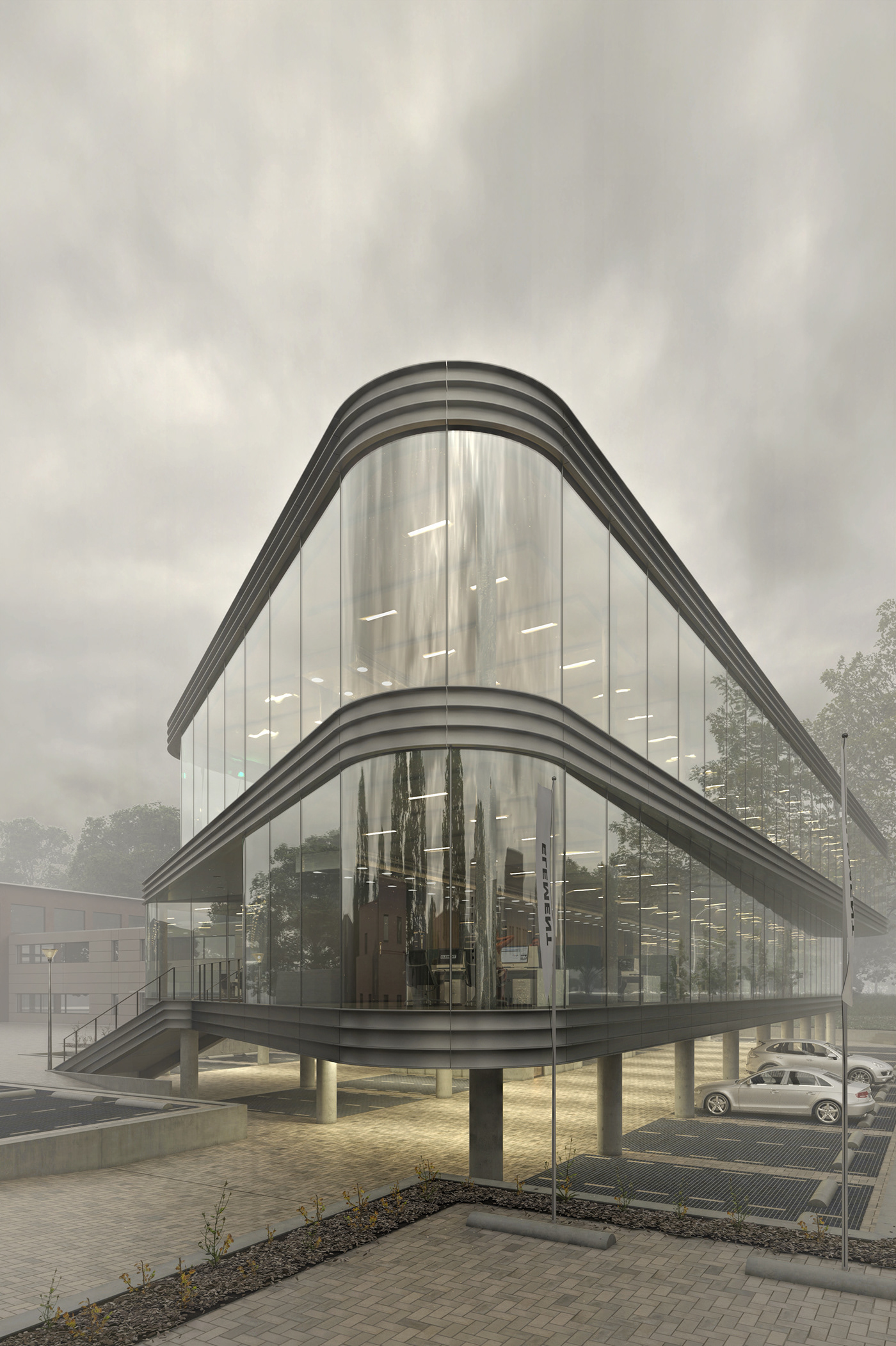 architecture design 3dvisualization 3drender photoshop