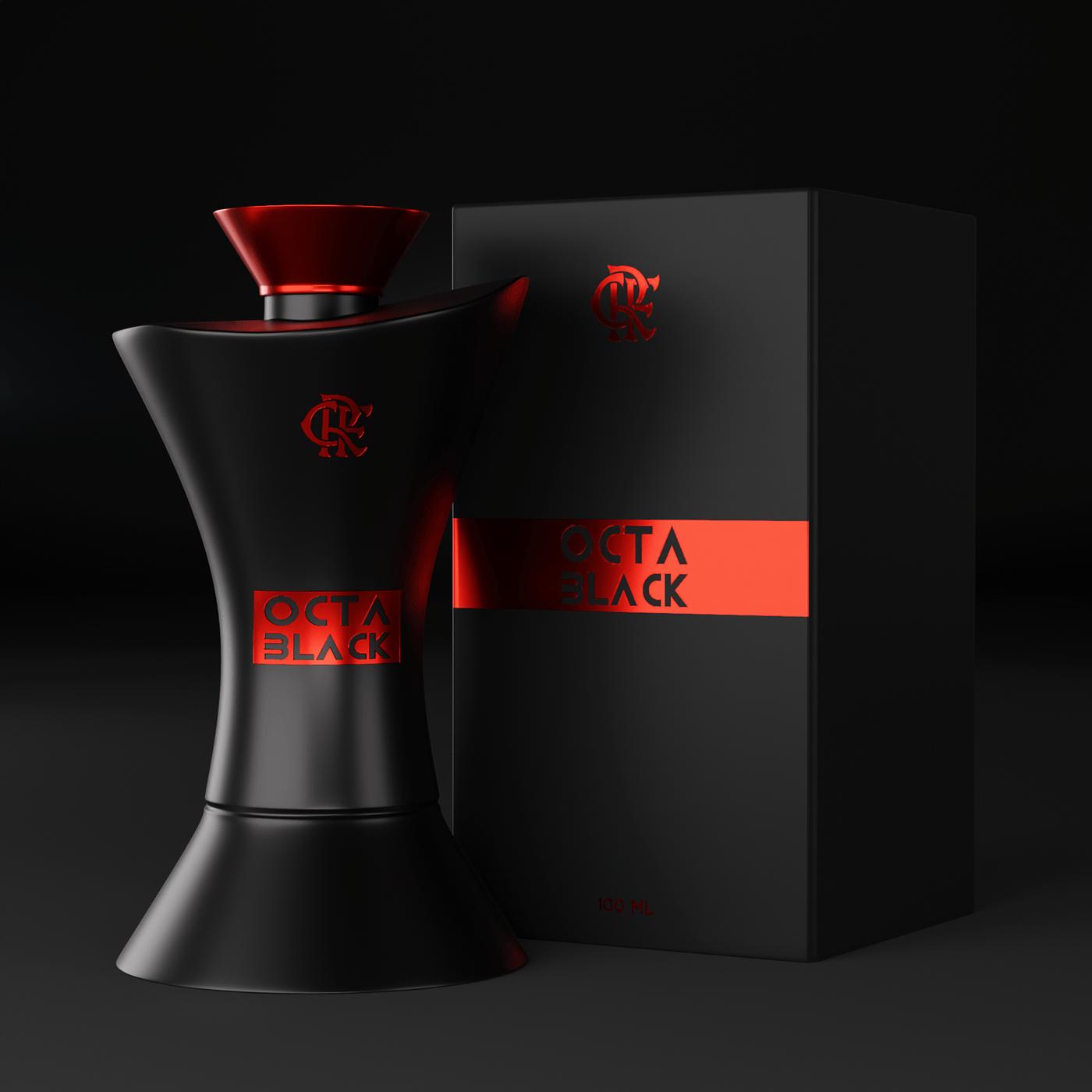 3D,blender,design de produto,design gráfico,embalagem,flamengo,luxcore,Packshot,perfume