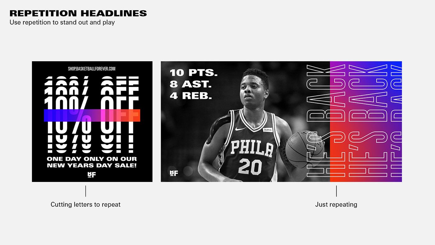 basketball sports design logo refresh motion ID