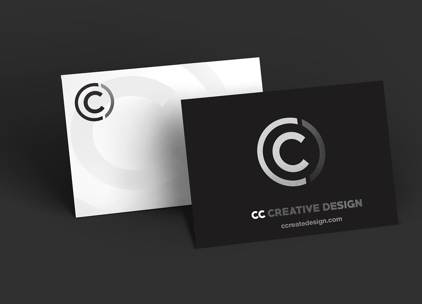 Cc creative design branding on behance colour theory font usage online alternate business card reheart Image collections
