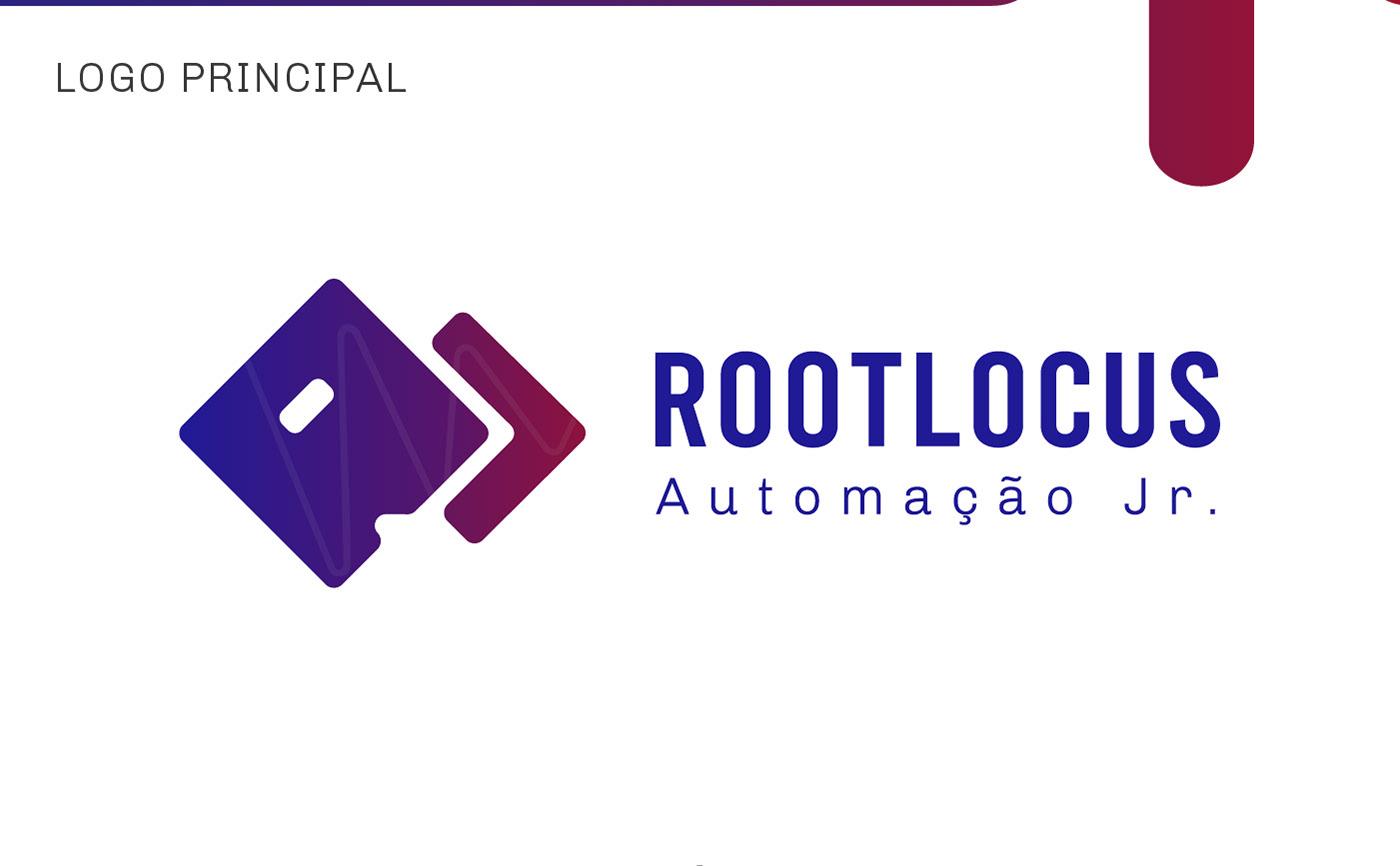 automação design Design de Marca Engenharia engenharia de automação identidade visual logo Logomarca