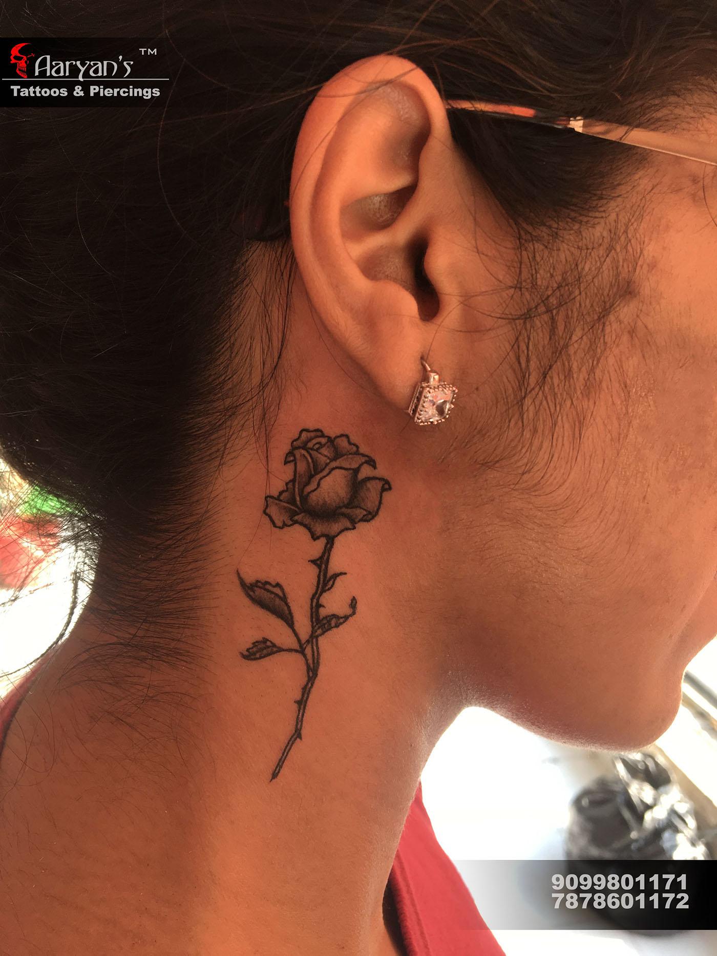 有美感的33套玫瑰花刺青欣賞