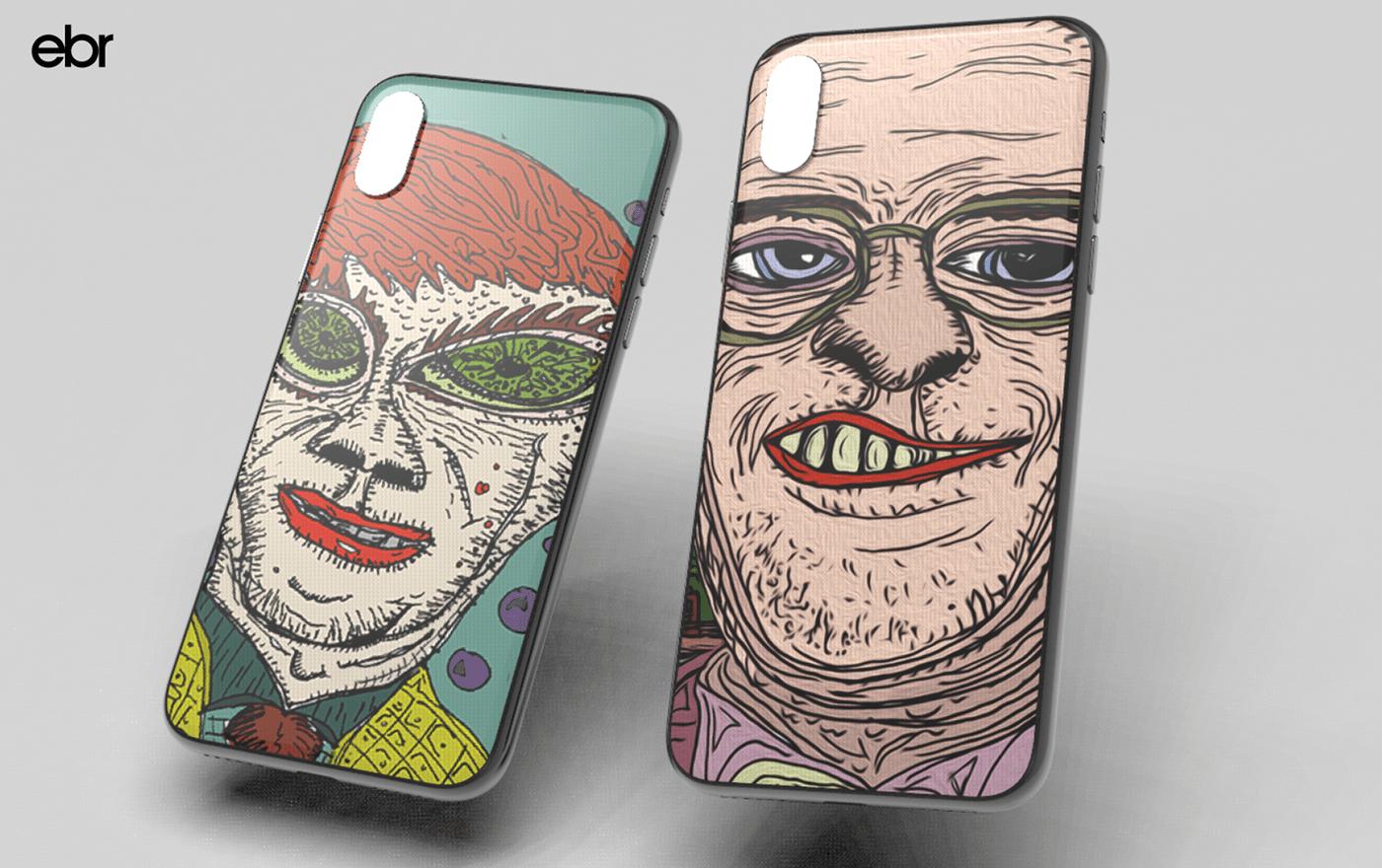 ILLUSTRATION  nyc phone case