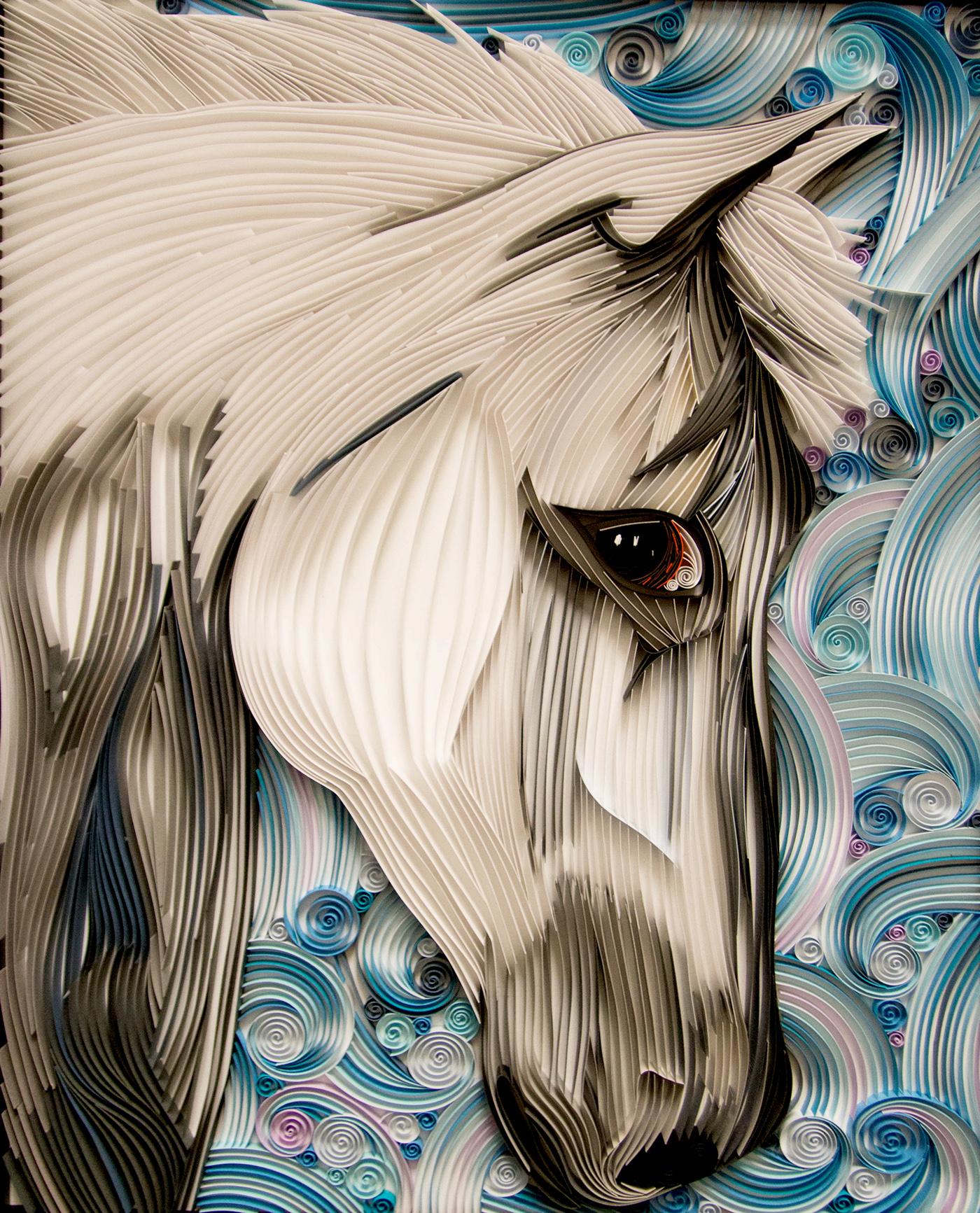 極美的27款立體紙雕作品欣賞