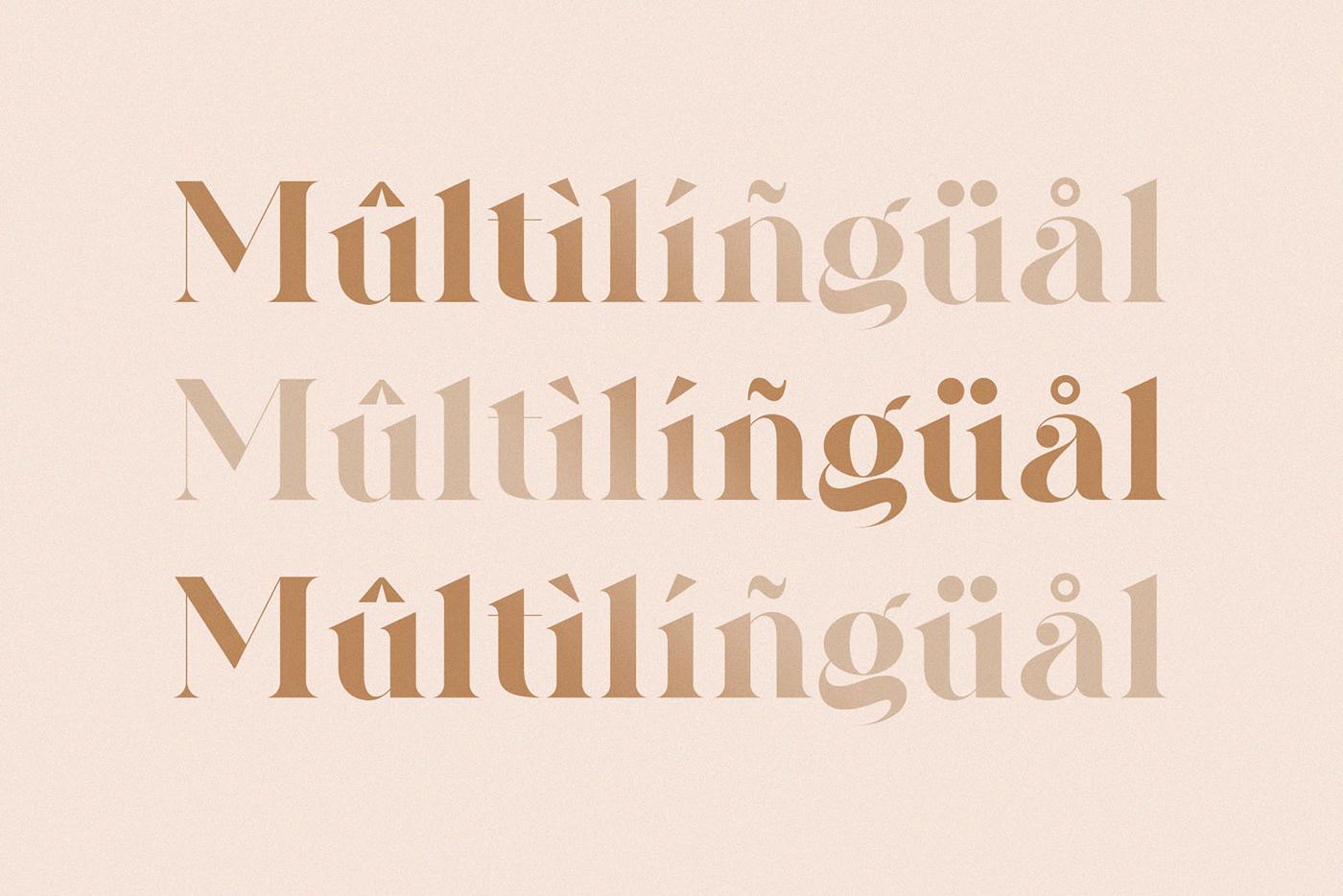display font font ligature ligature font logo font modern font serif Serif Font Typeface typography