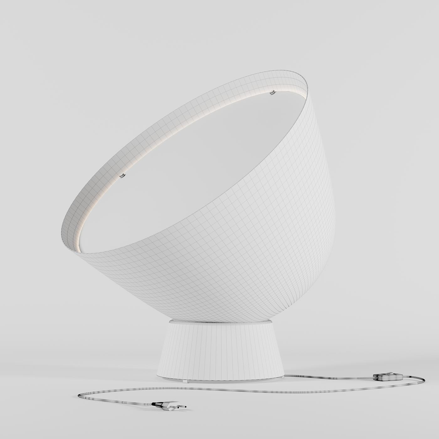 3d Model Lamp Ps 2017 Ikea On Behance