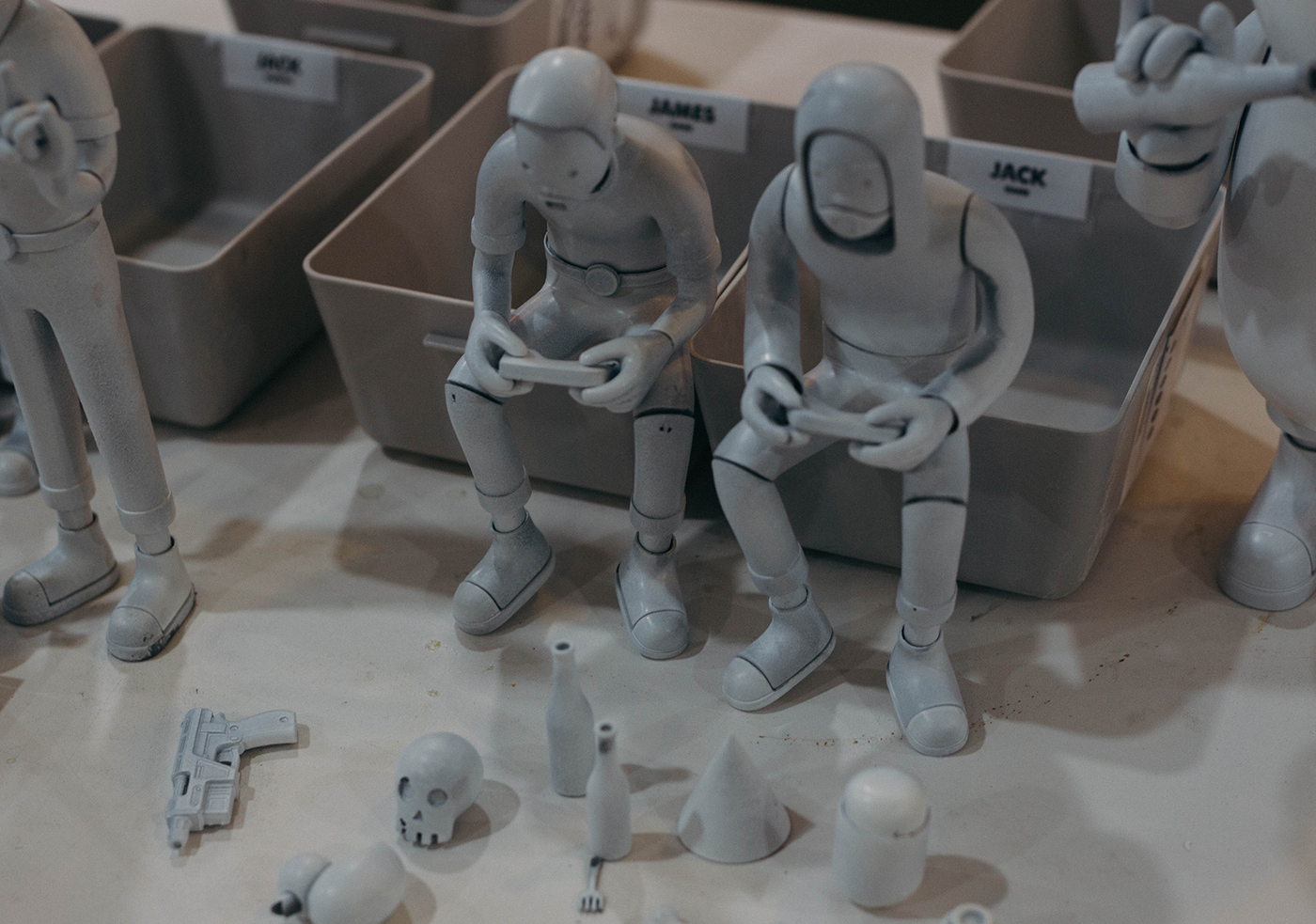 arttoy design toy RESINGTOY Character