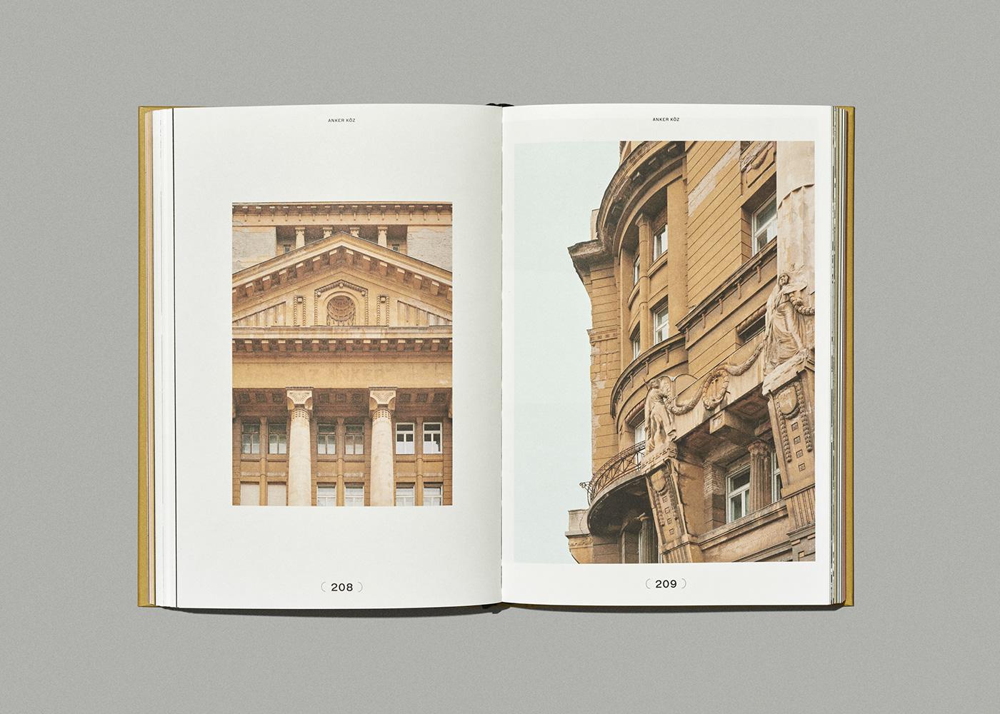 architecture book Bookdesign budapest budapestarchitecture coverdesign editorialdesign