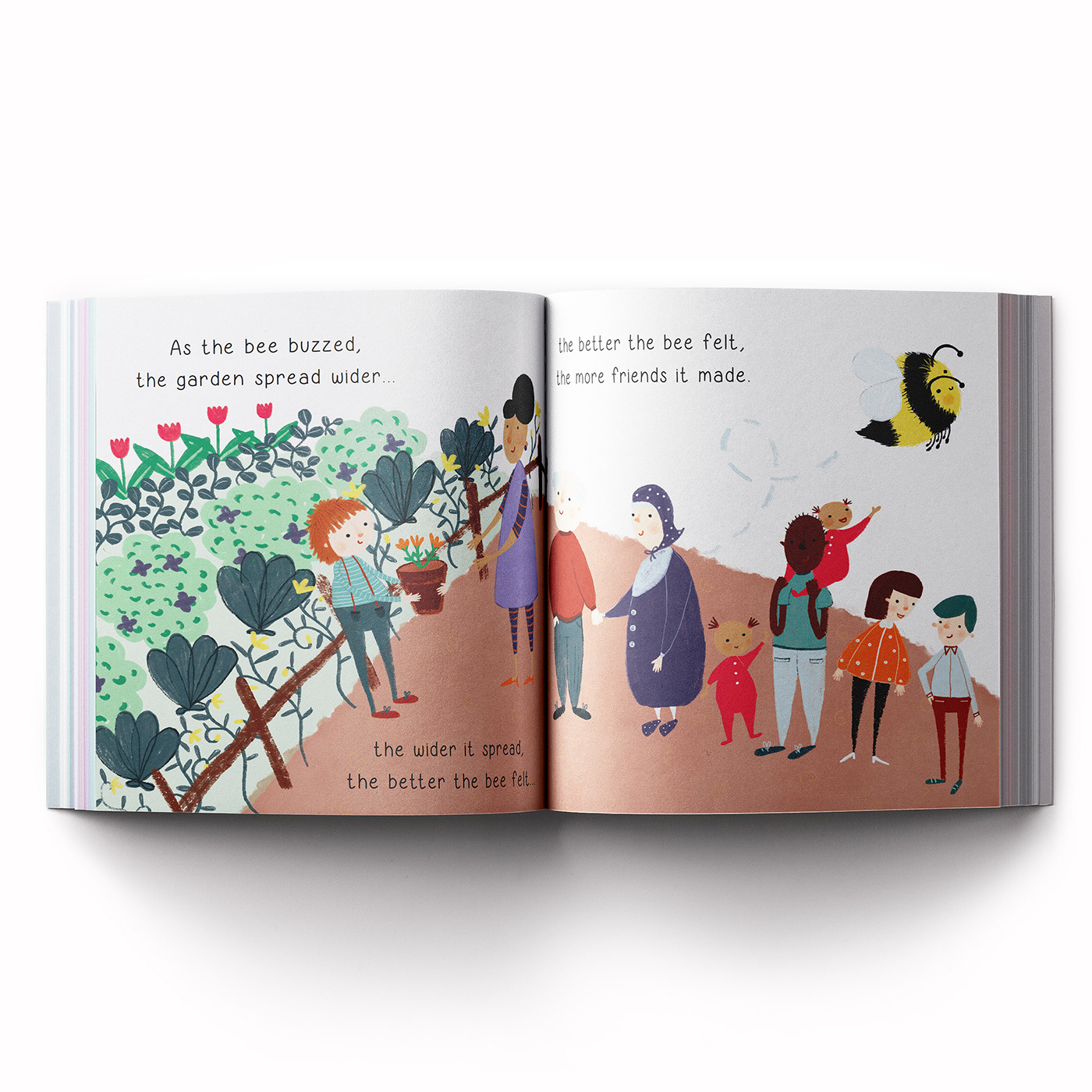 children's book ILLUSTRATION  bees colony collapse disorder