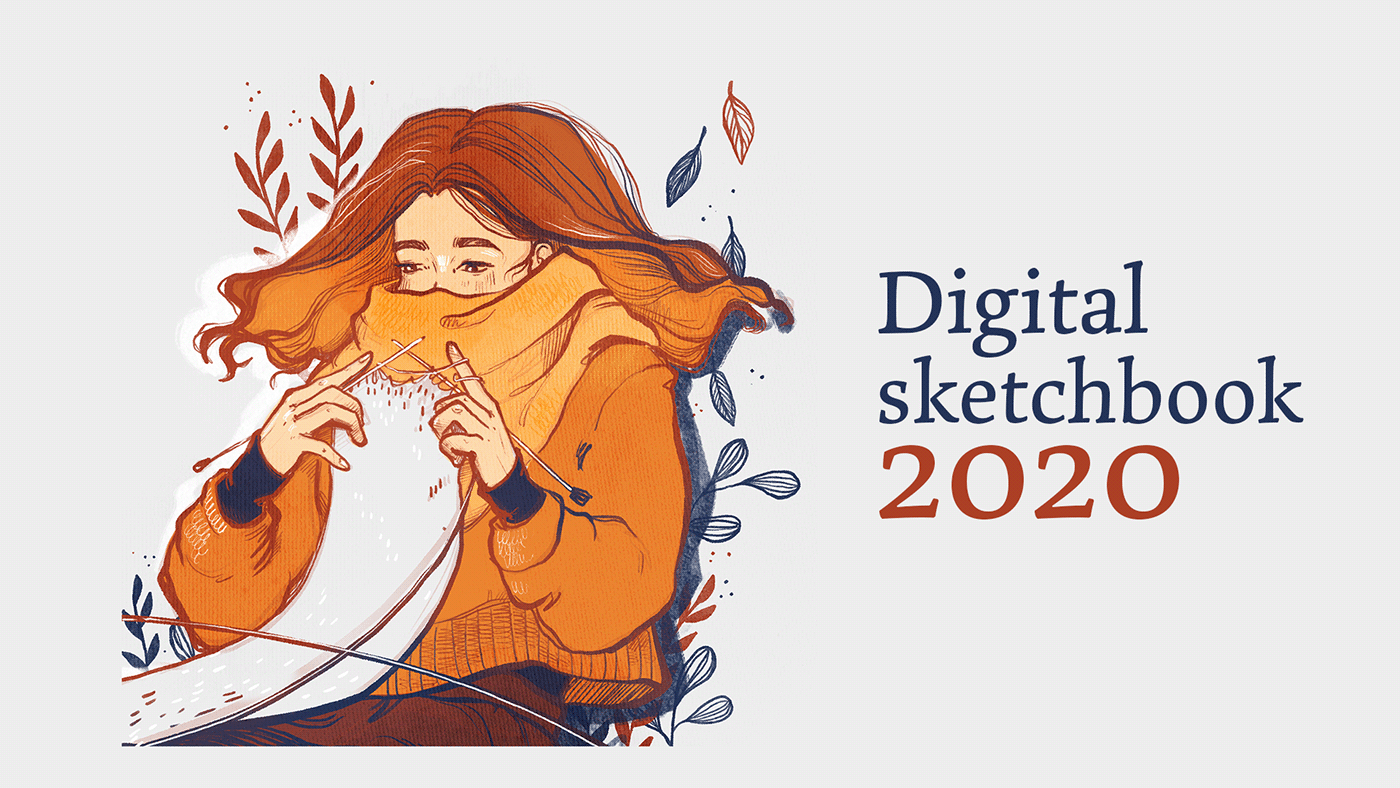 2020 Review digital Digital Art  Drawing  ILLUSTRATION  Procreate sketch sketchbook