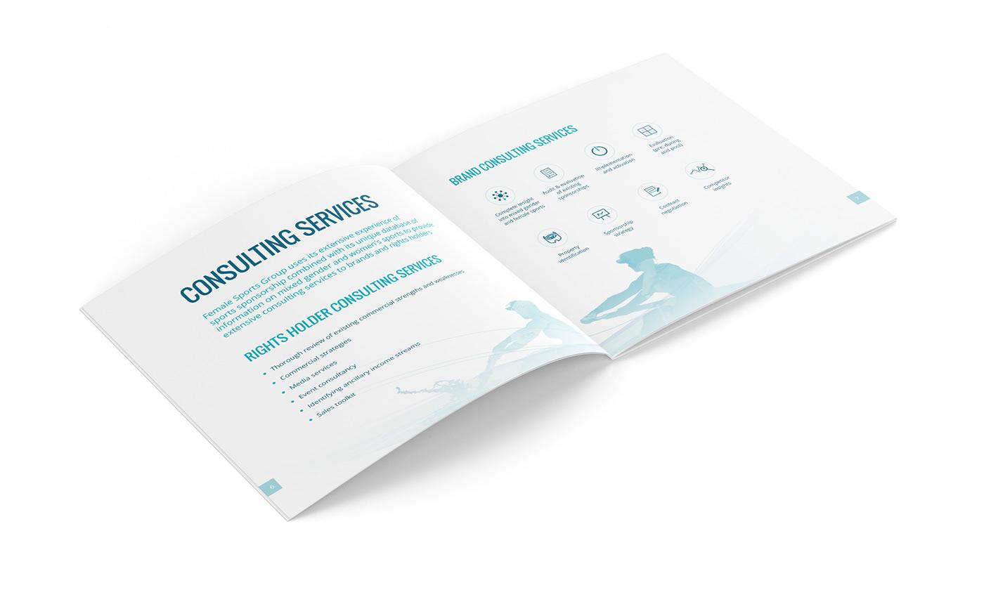 brochure corporate diseño gráfico identity ilustracion ilustration Layout minimal print