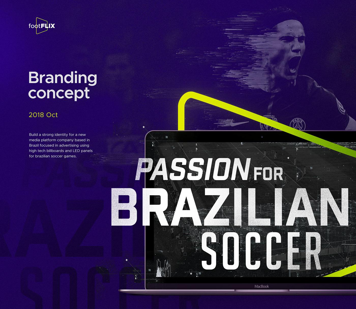 Technology soccer futebol football Brazilian Brazil stream led Brasil