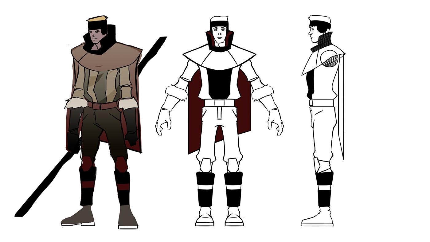Character Design Appeal : Beast sebastien on behance