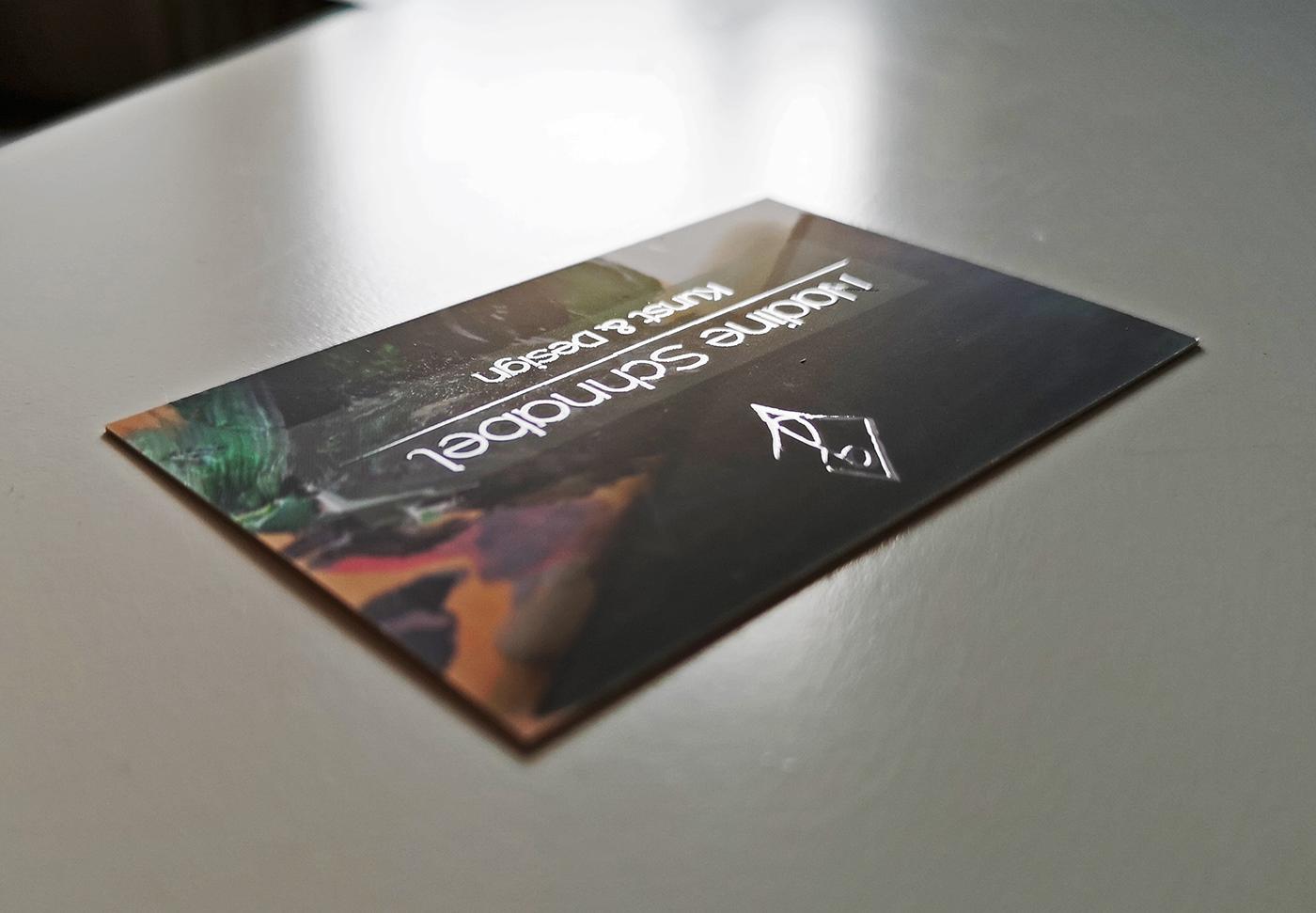 Branding Flyer Visitenkarte On Student Show
