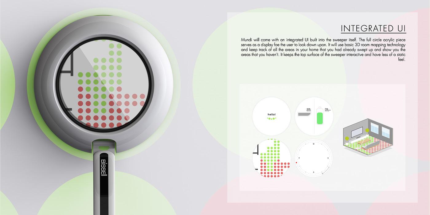 Adobe Portfolio industrial design sweeper product rendering keyshot