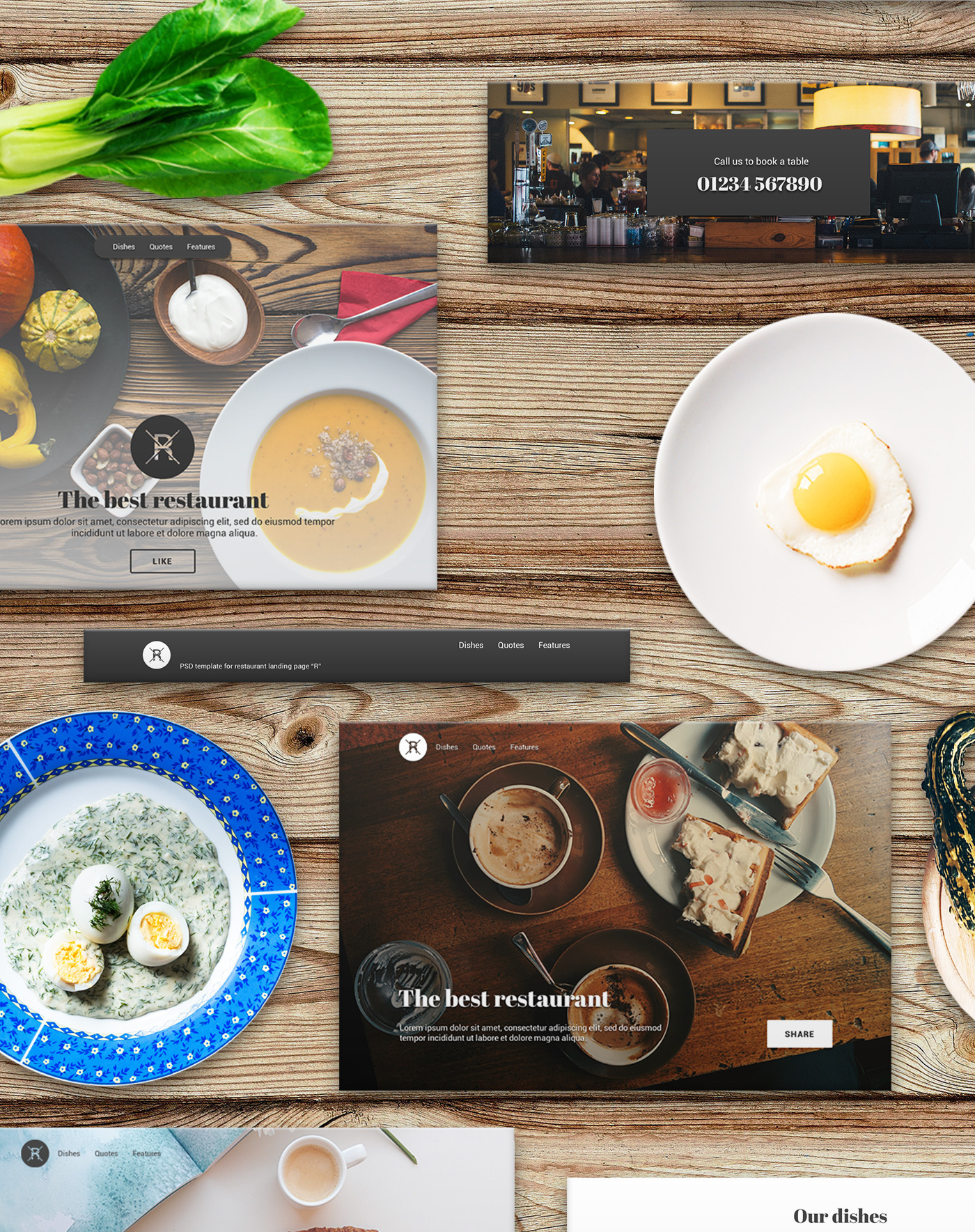 landing,page,UI,restaurant,cafe,Food ,psd,free,freebies,template,block,photoshop,cover,slider,ui lit