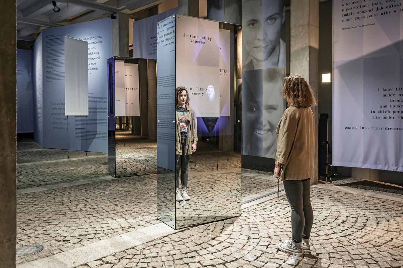 interactive design design Exhibition  exhibit data visualisation interactive space