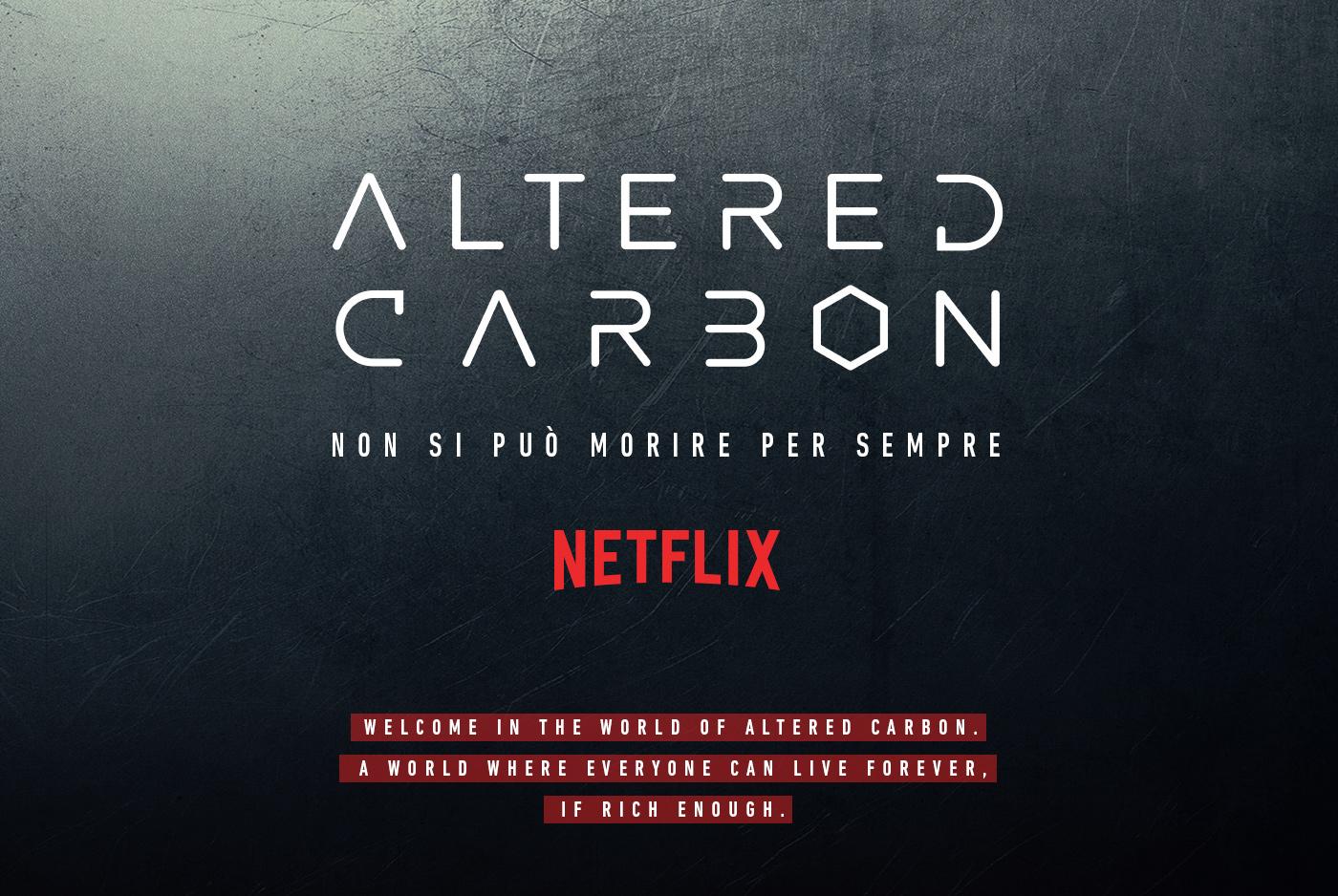 Netflix alteredcarbon OOH motion store activation shop body magnini commercial