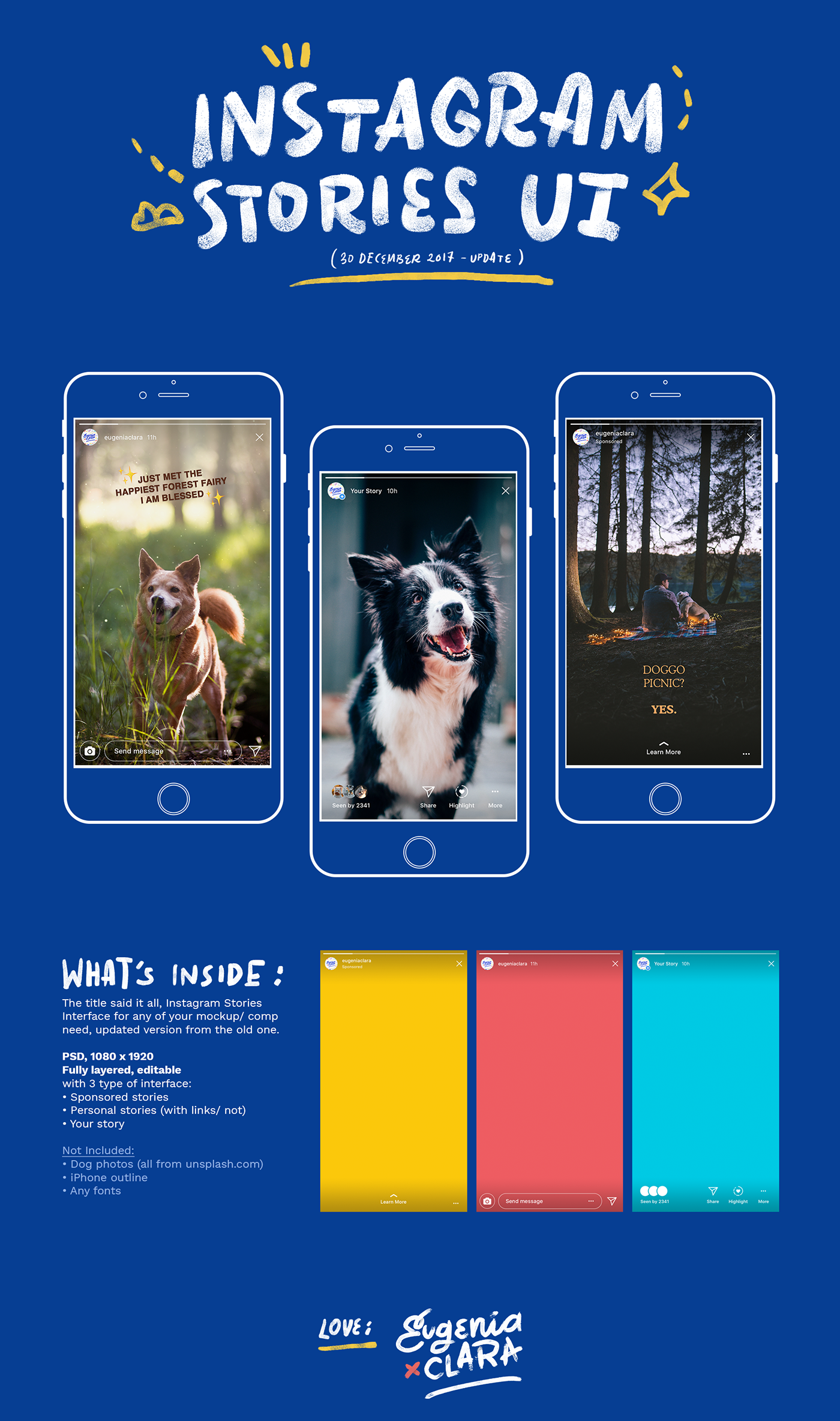 Free Instagram Template For Photoshop