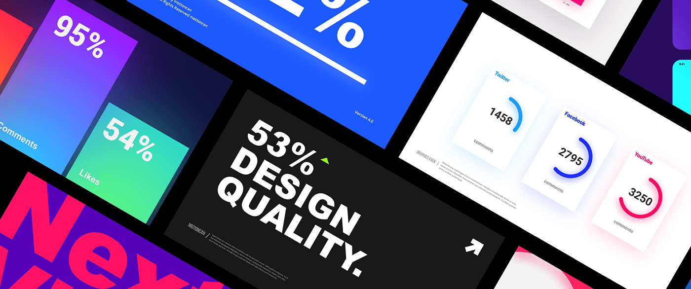 Typography design and Infographics