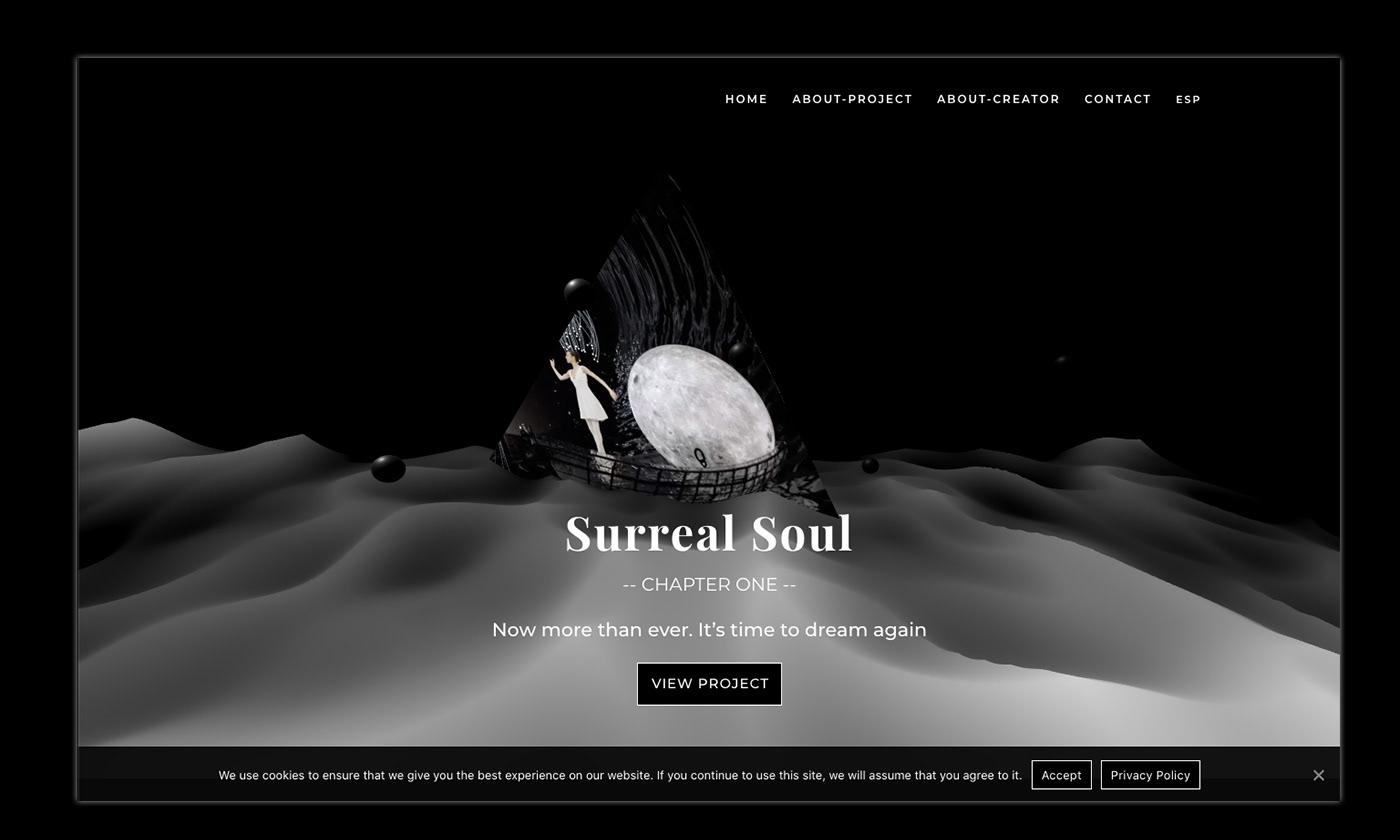 design modern website threejs ux Web-site