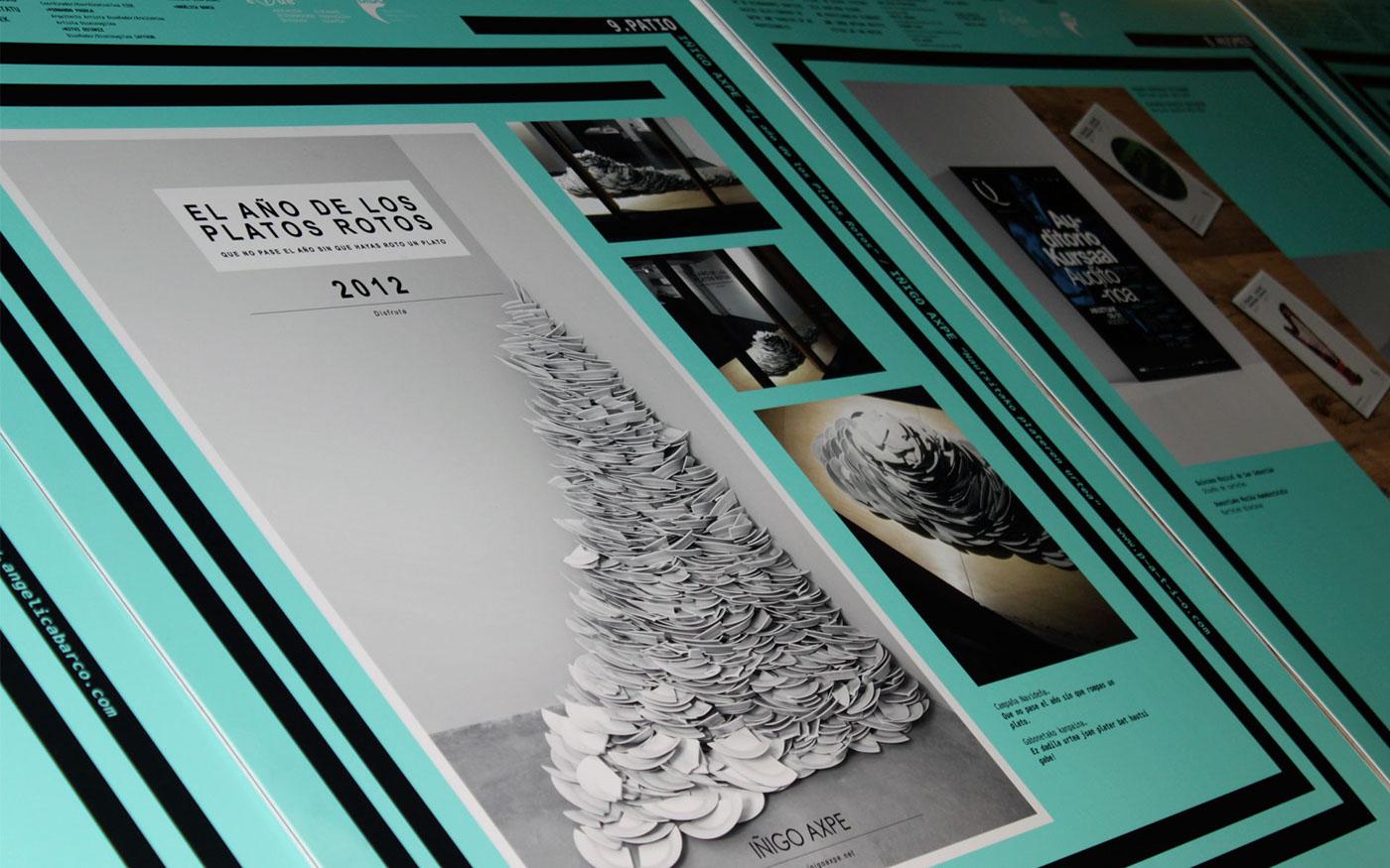 basque basque design Exhibition  Alhóndiga Bilbao brochure
