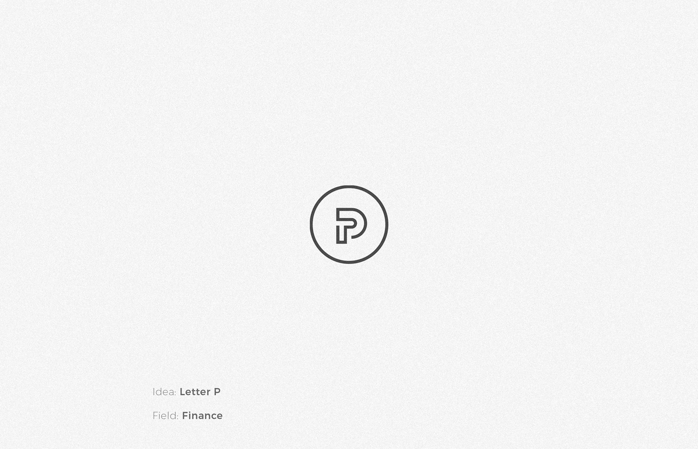 letter P logo design by Anh Do - Anhdodes